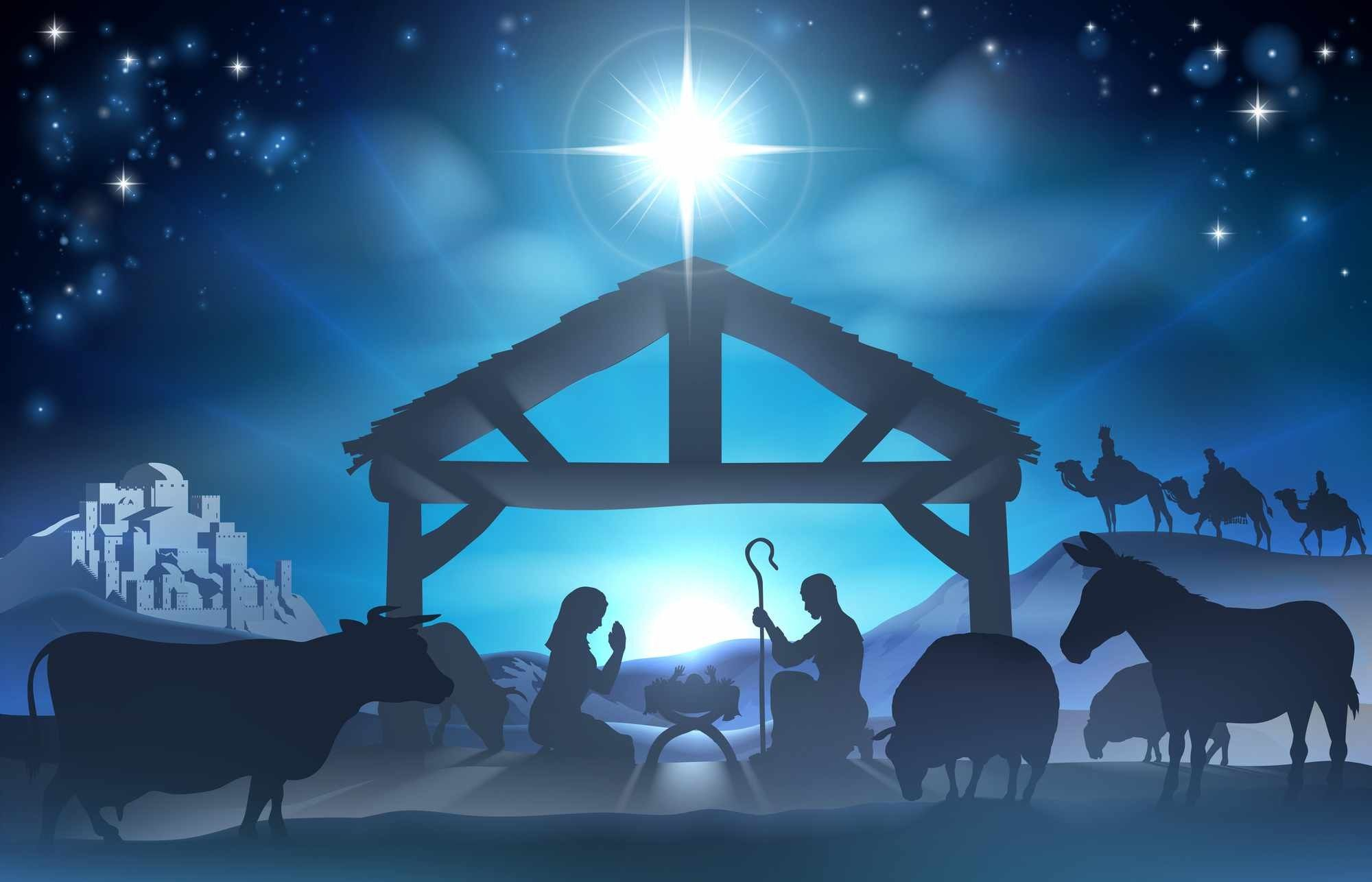 Religious Christmas Wallpapers Top Free Religious Christmas Backgrounds Wallpaperaccess