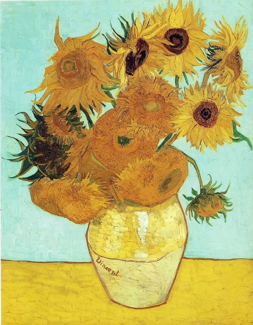 Vincent Van Gogh Sunflower Wallpapers Top Free Vincent Van Gogh Sunflower Backgrounds