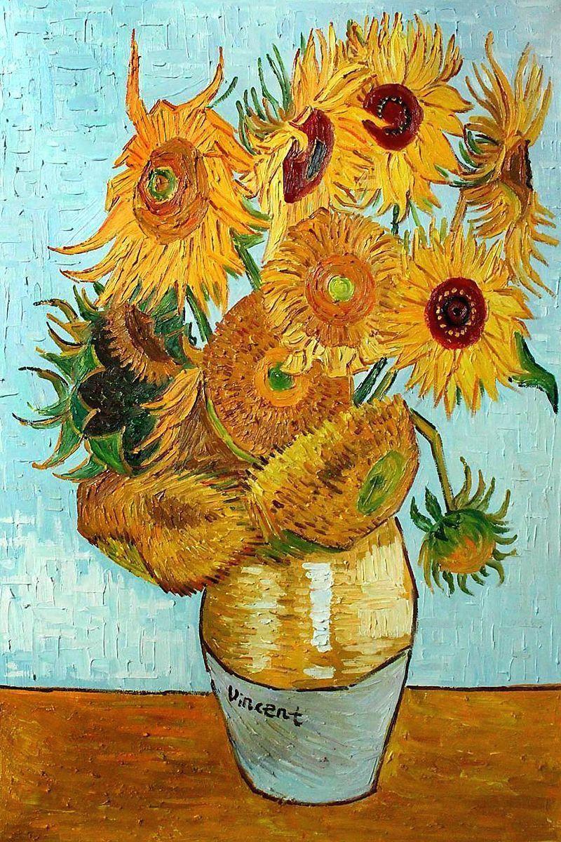 Vincent Van Gogh Sunflower Wallpapers - Top Free Vincent ...