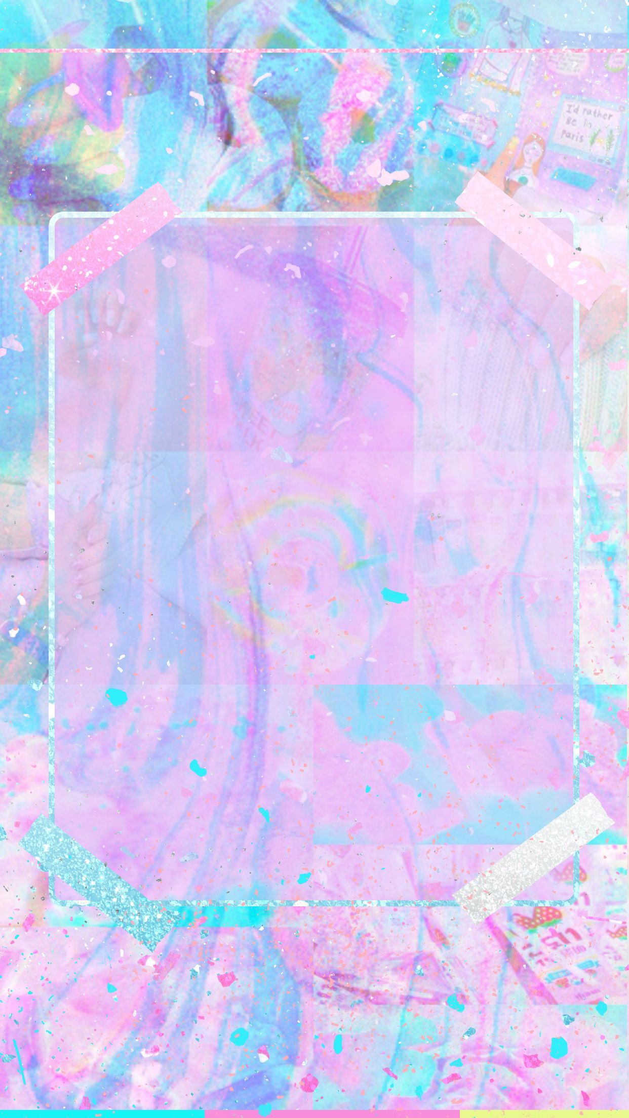 Cute Blue Pastel Wallpapers Top Free Cute Blue Pastel
