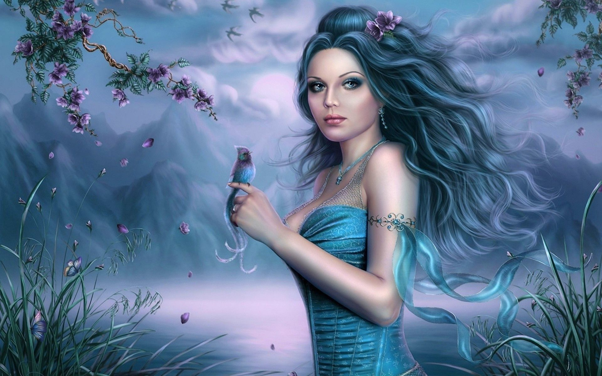 Fairy Girl Wallpapers Top Free Fairy Girl Backgrounds Wallpaperaccess