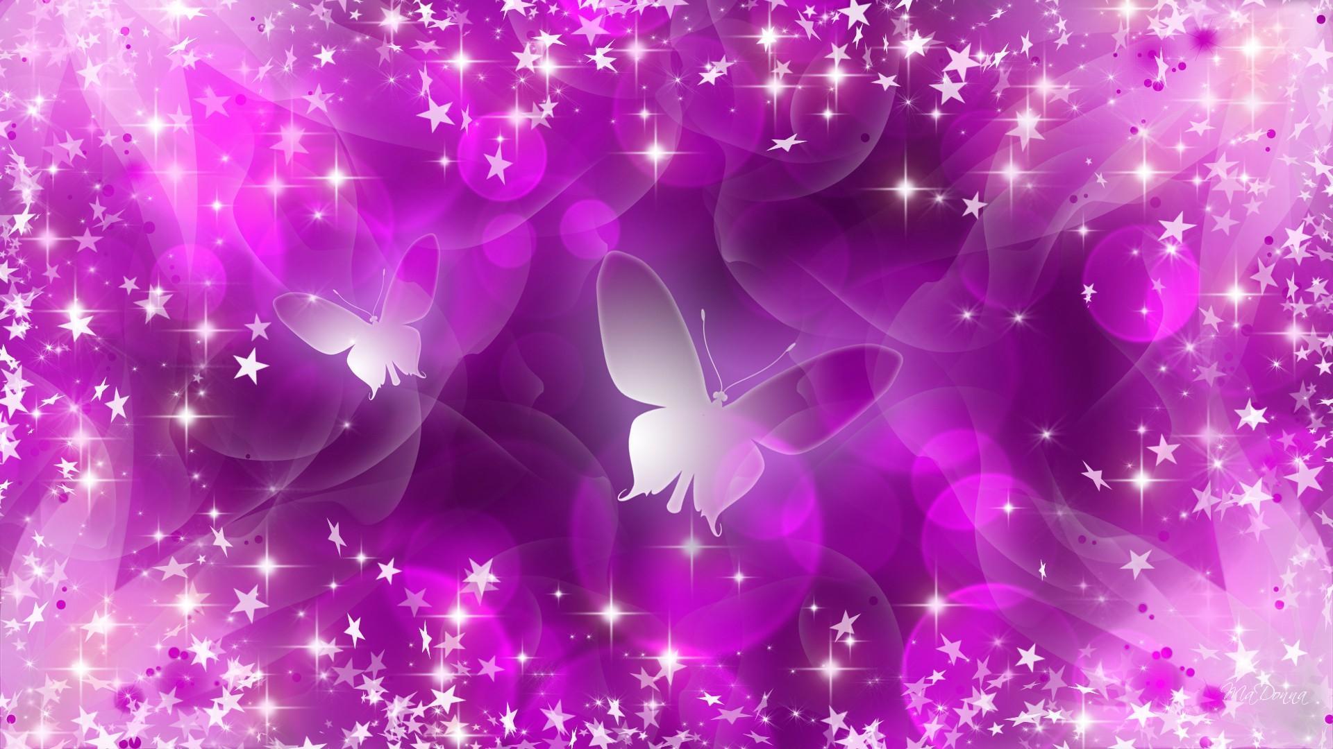 Purple Glitter Butterfly Wallpapers - Top Free Purple ...