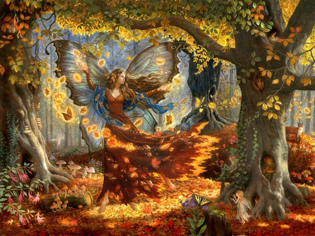 Autumn Fairy Wallpapers Top Free Autumn Fairy Backgrounds