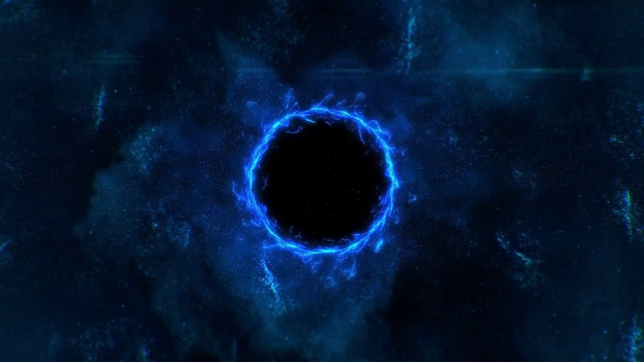 Blue Black Hole Wallpapers Top Free Blue Black Hole Backgrounds Wallpaperaccess