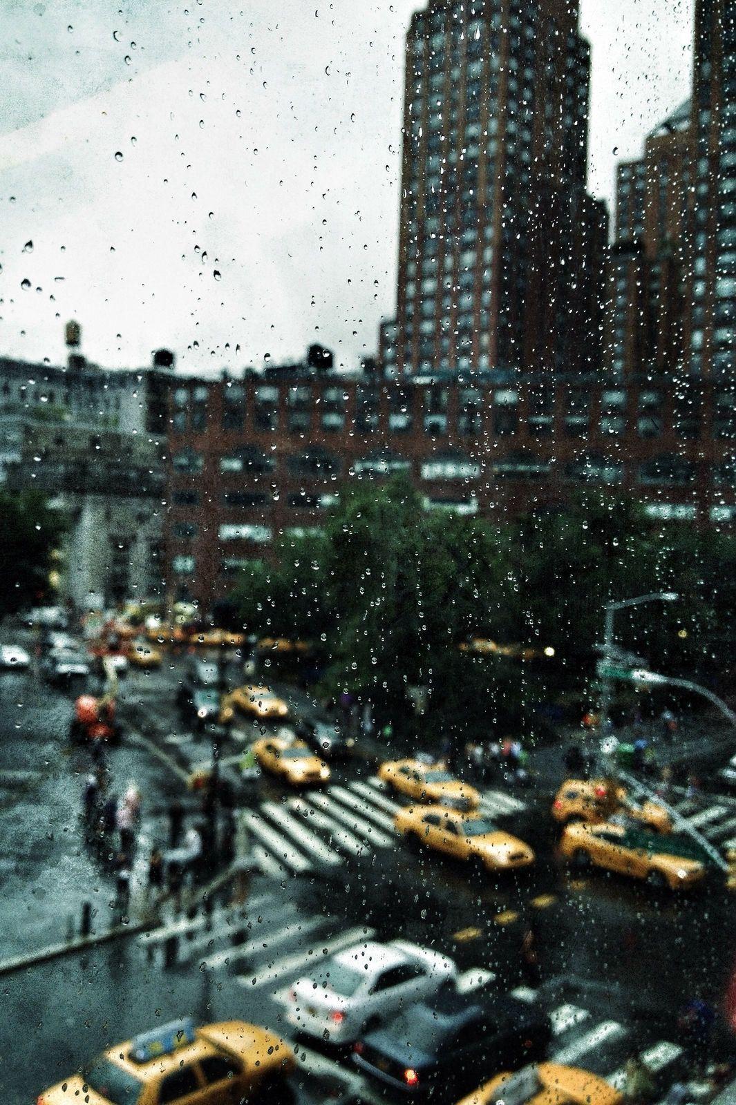 Rainy New York Iphone Wallpapers Top Free Rainy New York