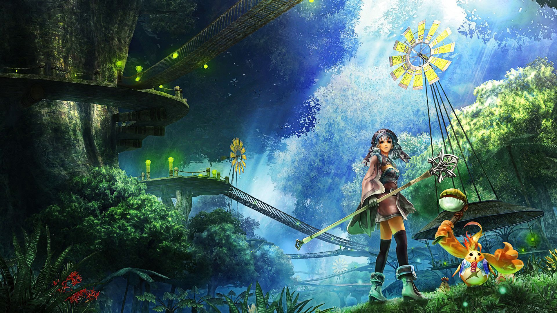 Anime Fantasy Wallpapers Top Free Anime Fantasy Backgrounds Wallpaperaccess