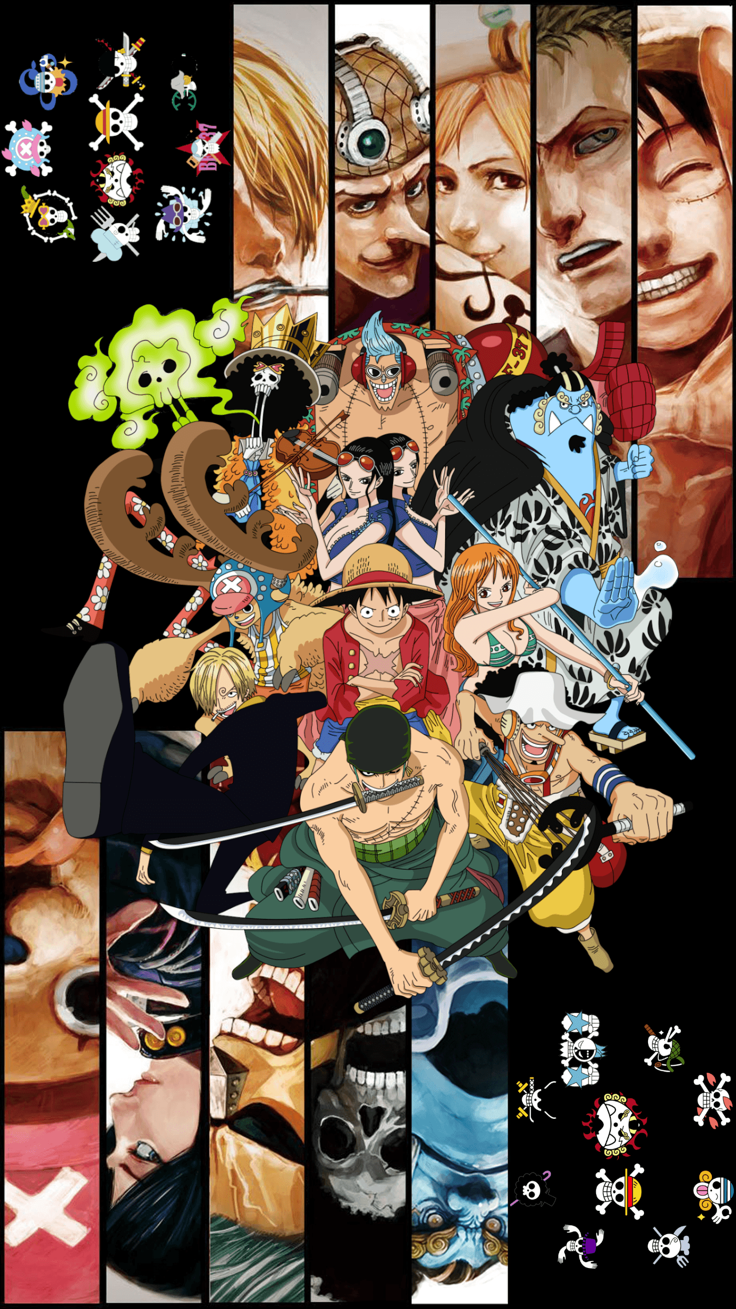 Straw Hat Pirates Wallpapers Top Free Straw Hat Pirates Backgrounds Wallpaperaccess