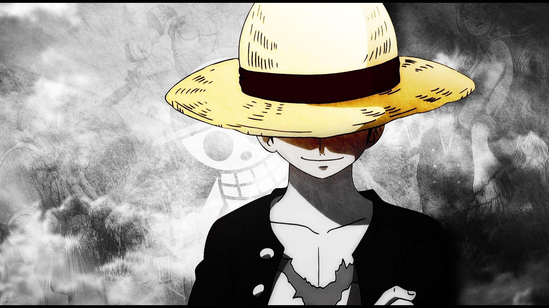 1920x1080 One Piece hình nền Luffy