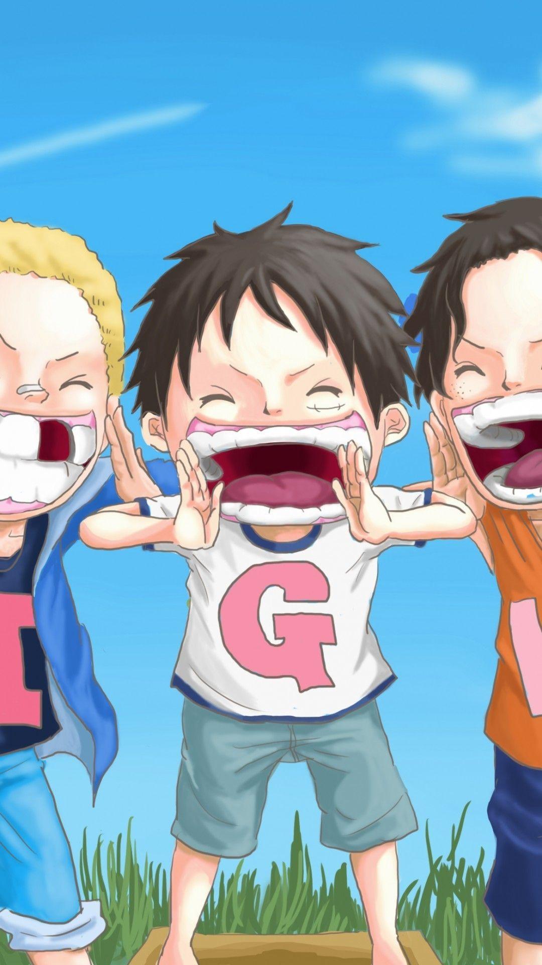 1080x1920 One Piece Ace hình nền