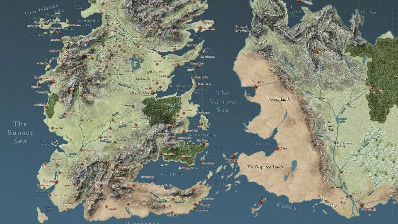 Game Of Thrones Map Desktop Wallpapers Top Free Game Of Thrones
