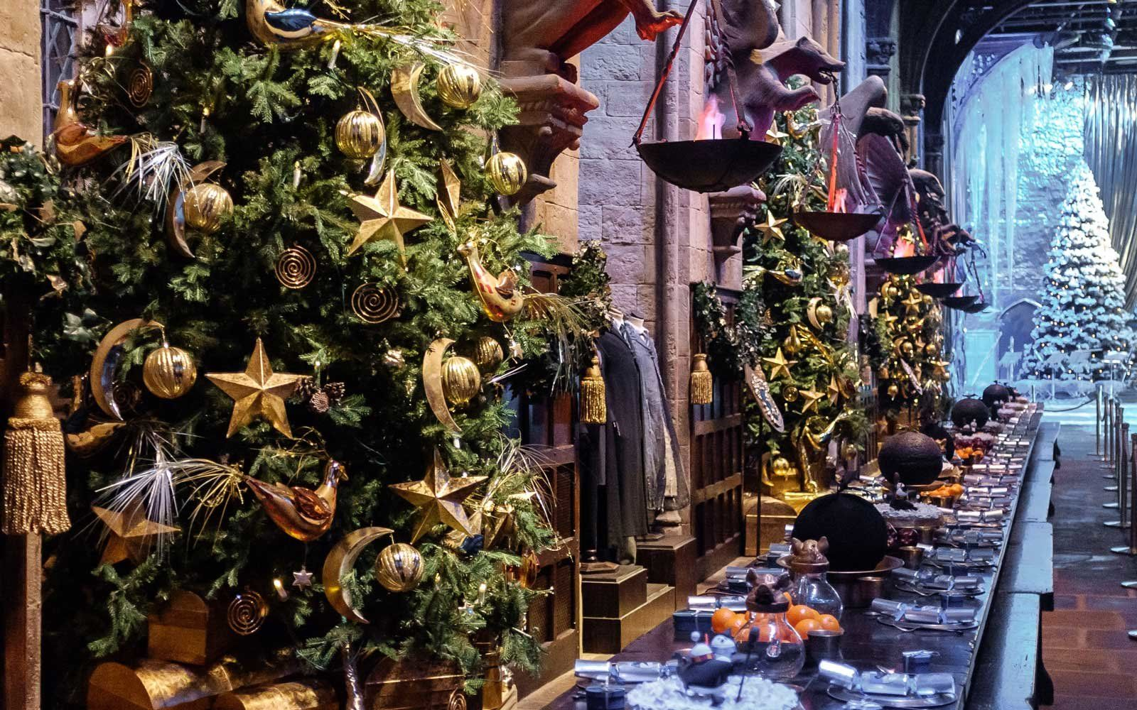 Harry Potter Christmas Tree Wallpapers Top Free Harry