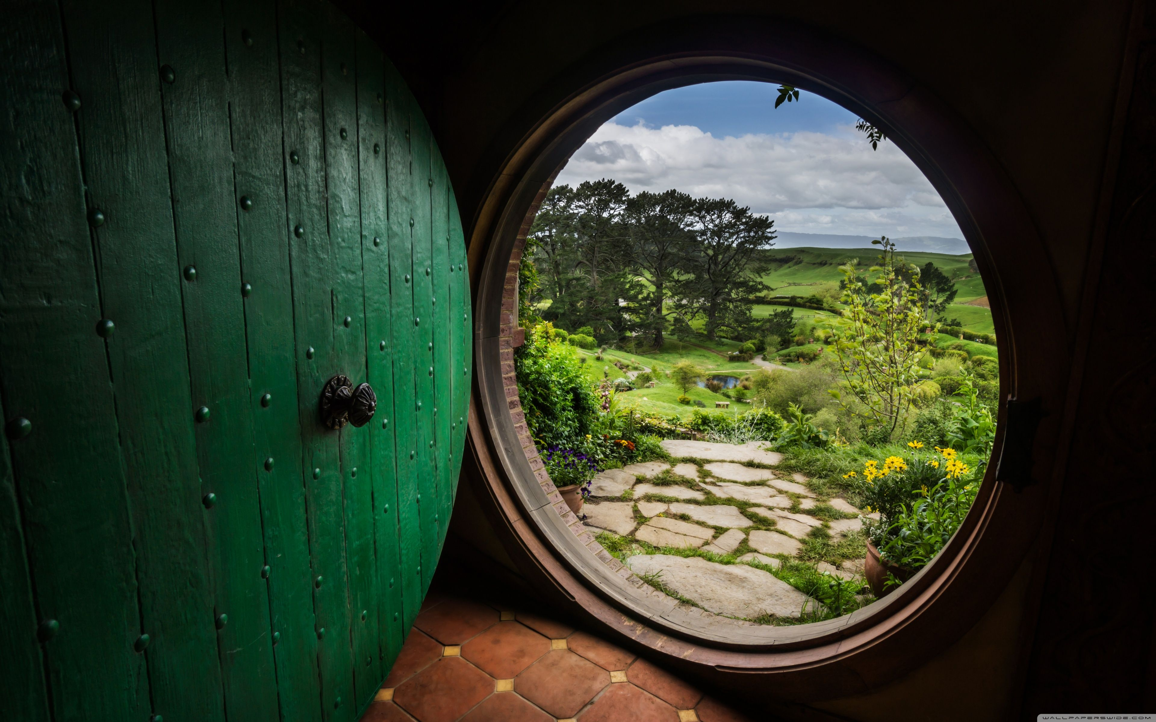 Hobbit Hole Wallpapers - Top Free Hobbit Hole Backgrounds