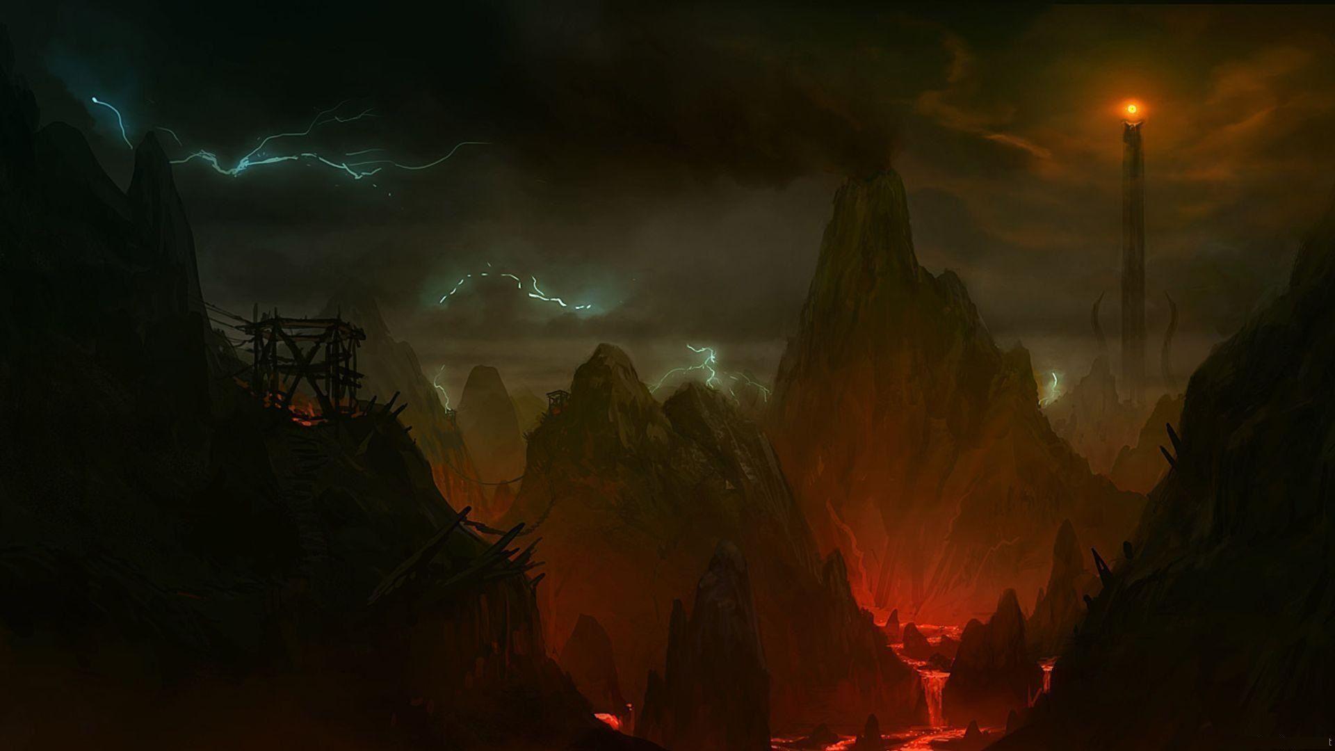 Lotr Mordor Wallpapers Top Free Lotr Mordor Backgrounds