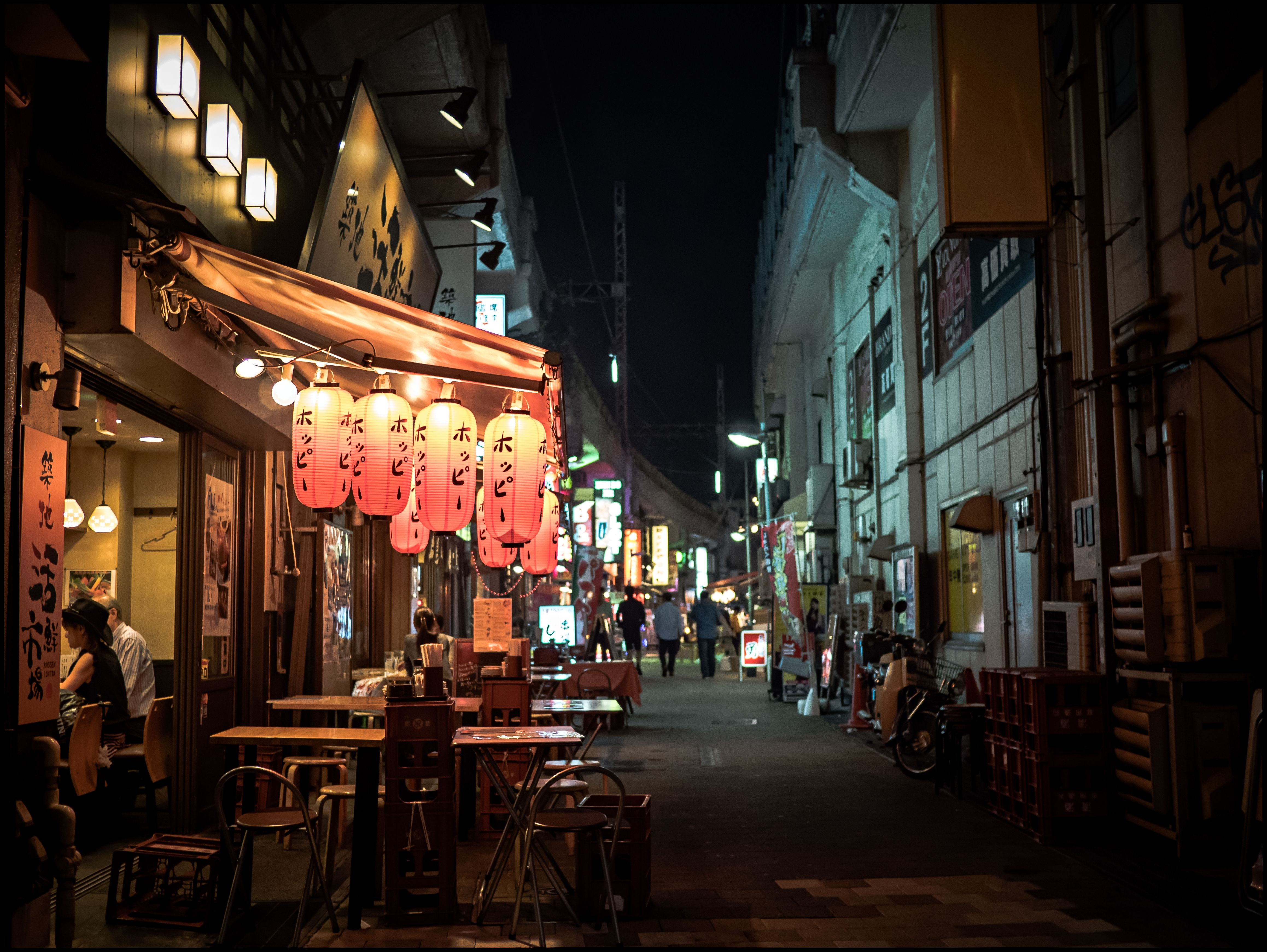 Tokyo Alley Wallpapers Top Free Tokyo Alley Backgrounds Wallpaperaccess