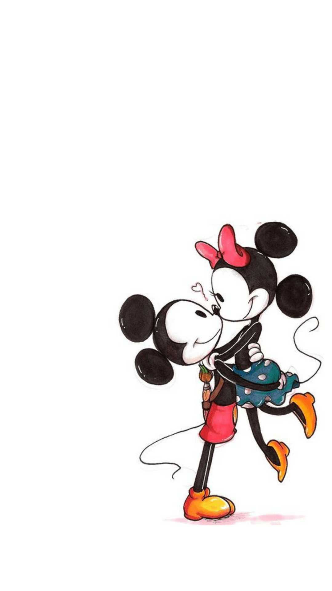Vintage Mickey and Minnie Wallpapers
