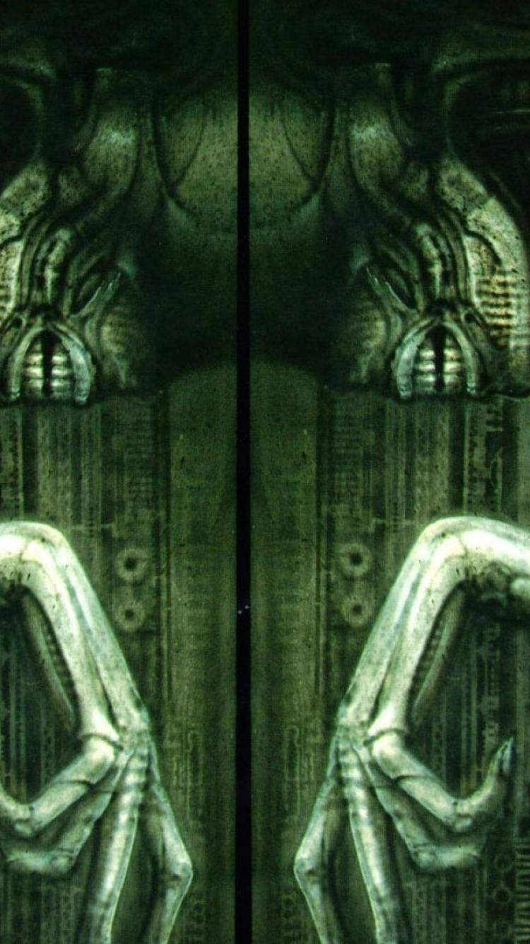 Hr Giger Iphone Wallpapers - Top Free Hr Giger Iphone ... H.r. Giger Wallpaper