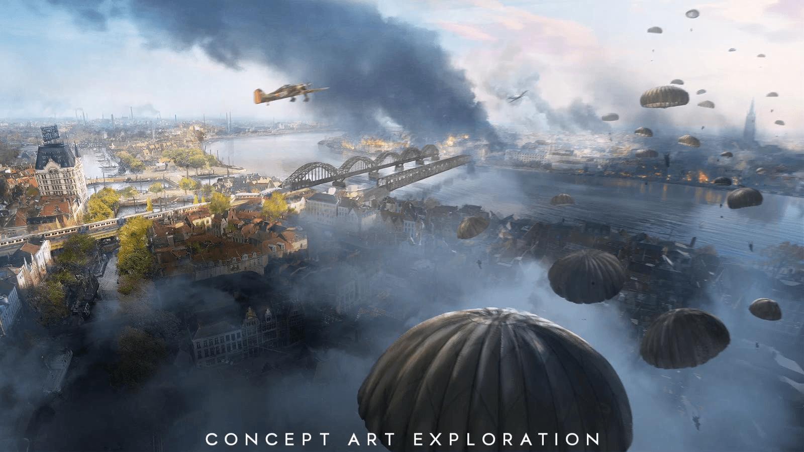 Battlefield 5 wallpapers top free battlefield 5 - Battlefield v concept art wallpaper ...
