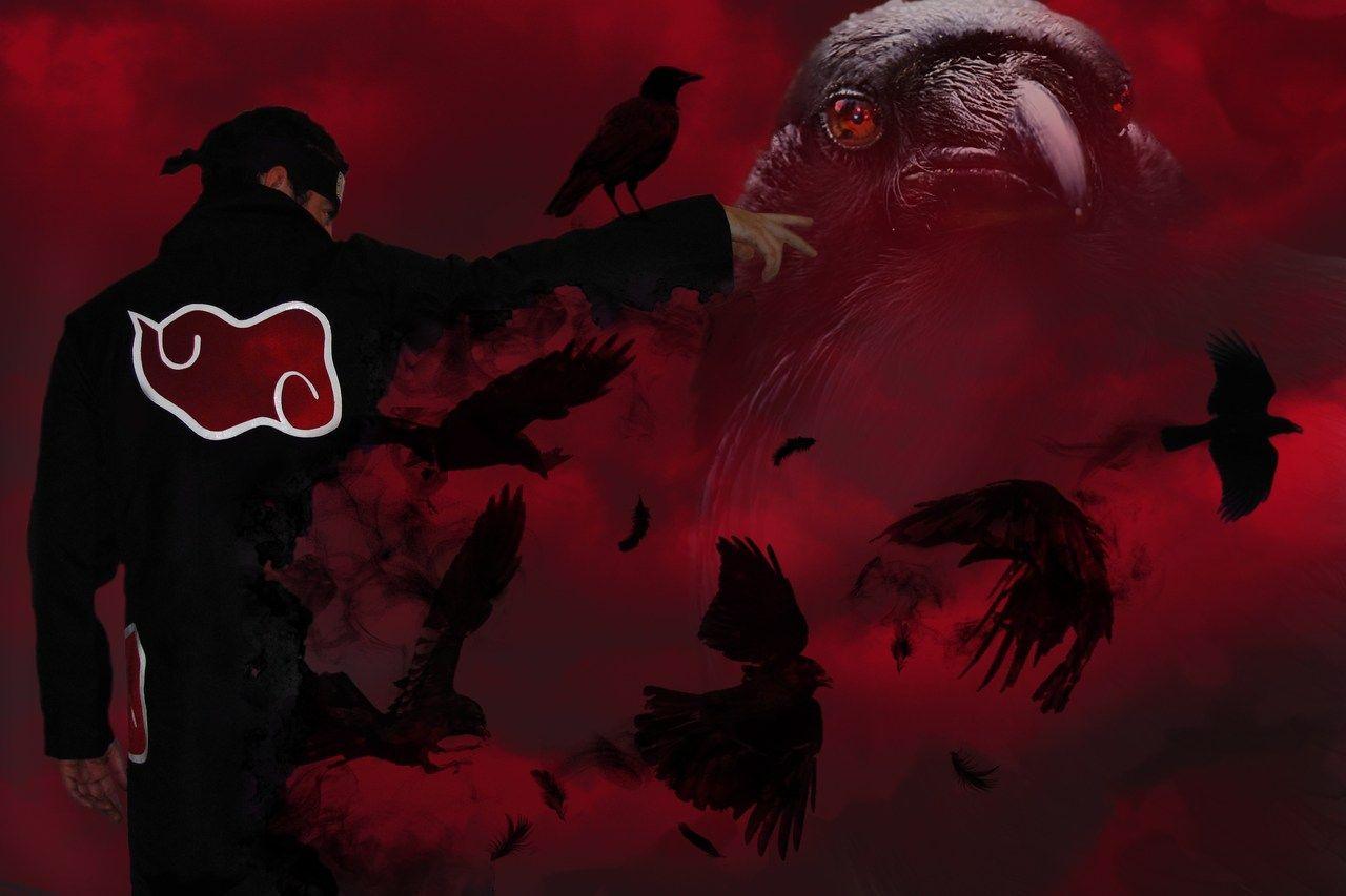Uchiha Itachi Crow Wallpapers - Top