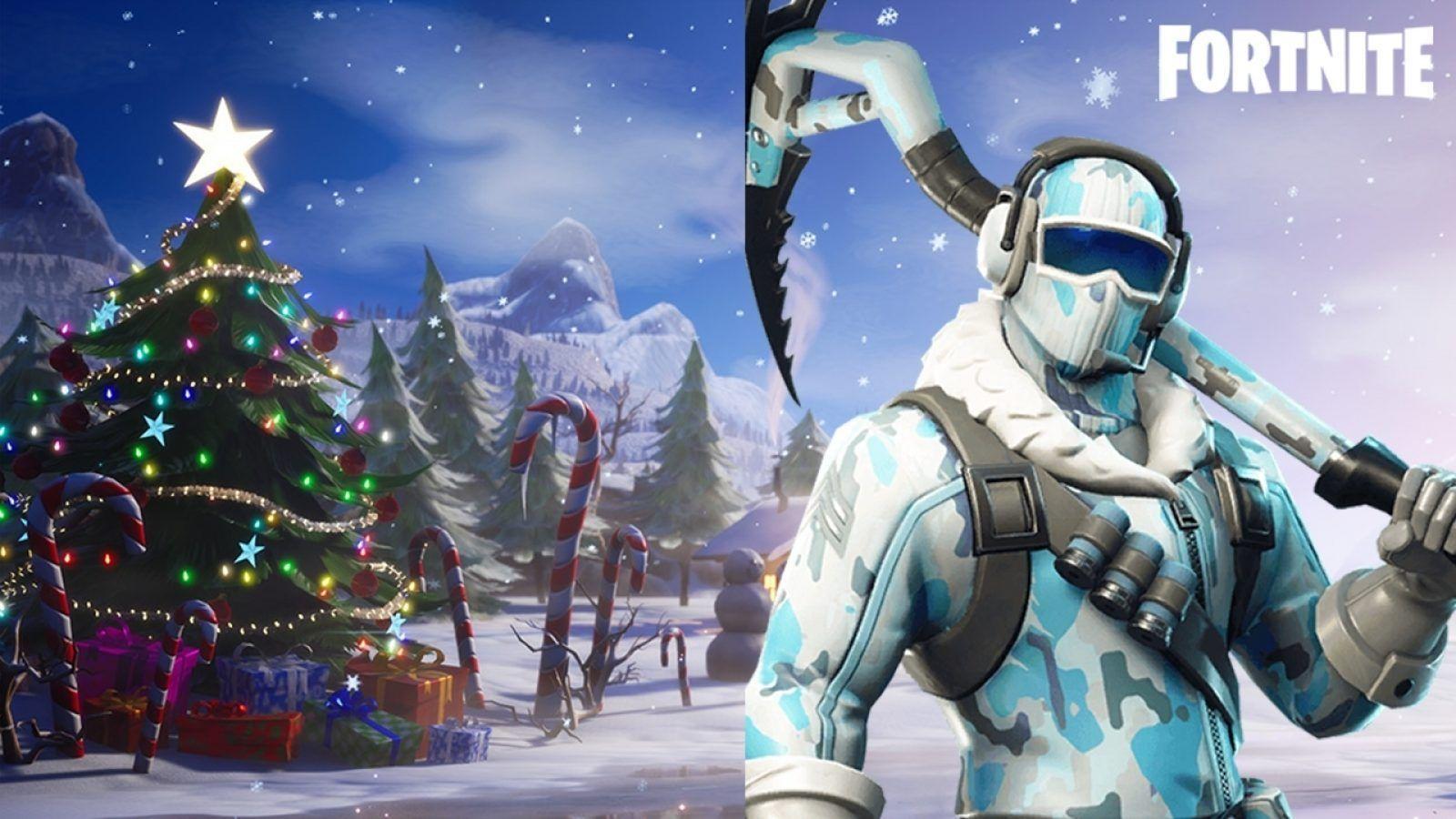Christmas Update Fortnite Desktop Wallpapers Top Free Christmas Update Fortnite Desktop Backgrounds Wallpaperaccess