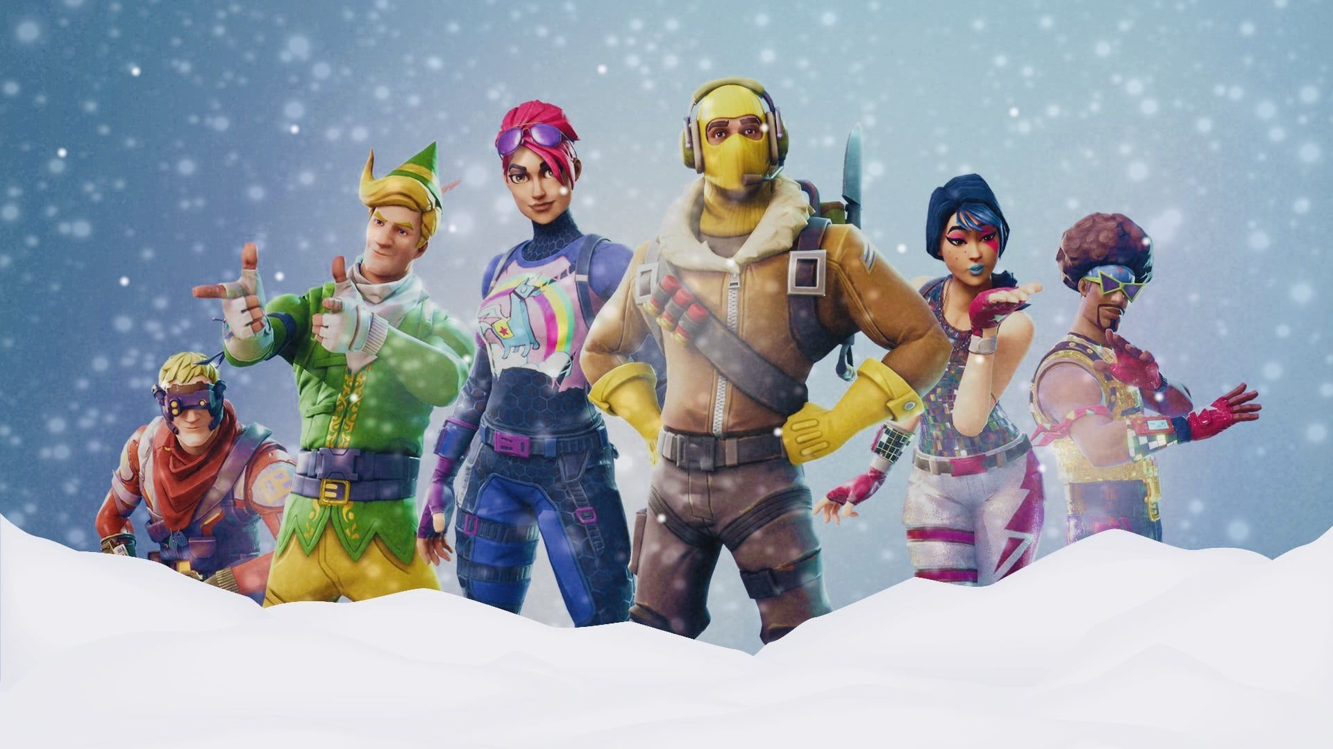 Christmas Fortnite Battle Royale Wallpapers - Top Free ...