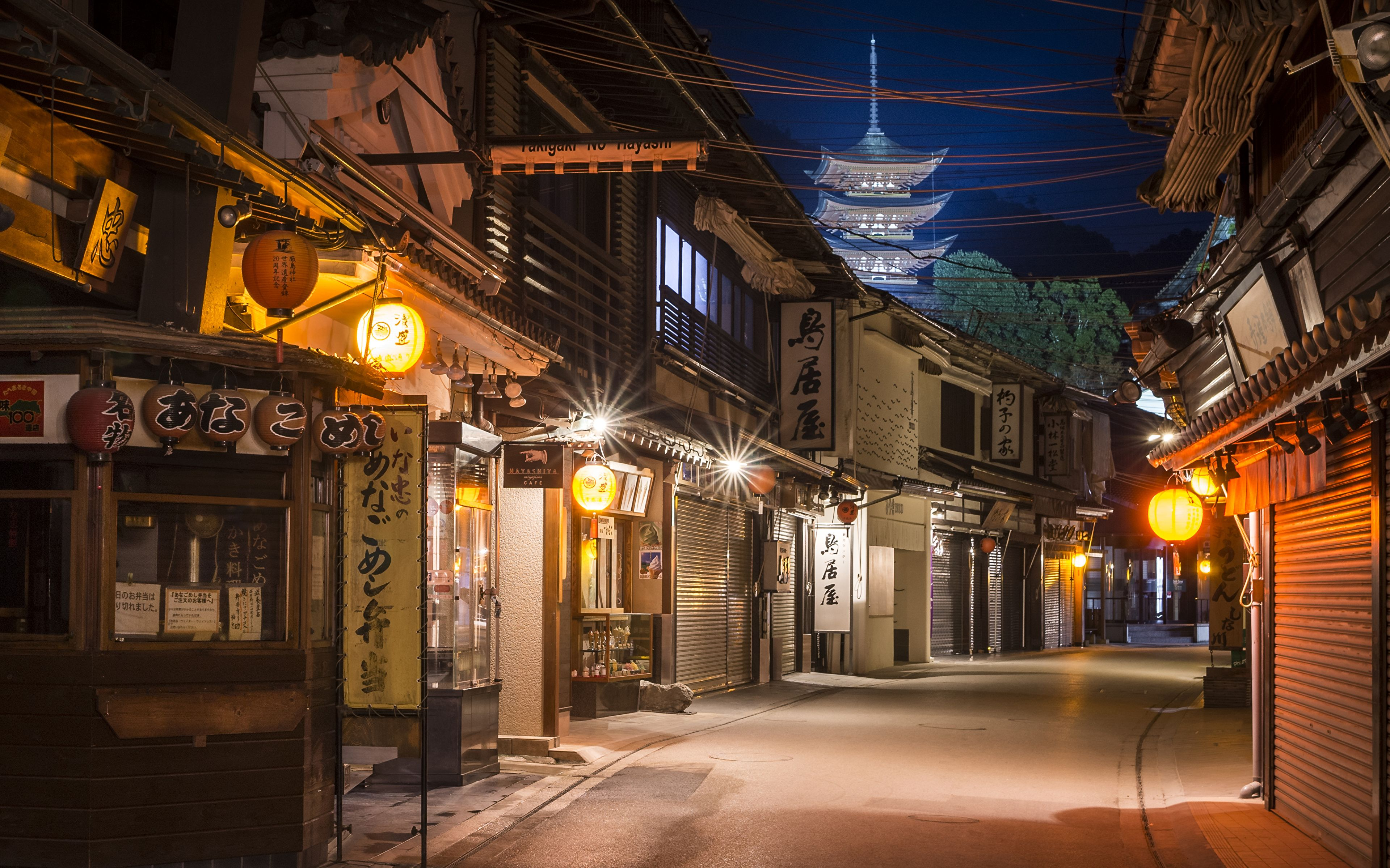 Japan Street Night Wallpapers - Top Free Japan Street ...