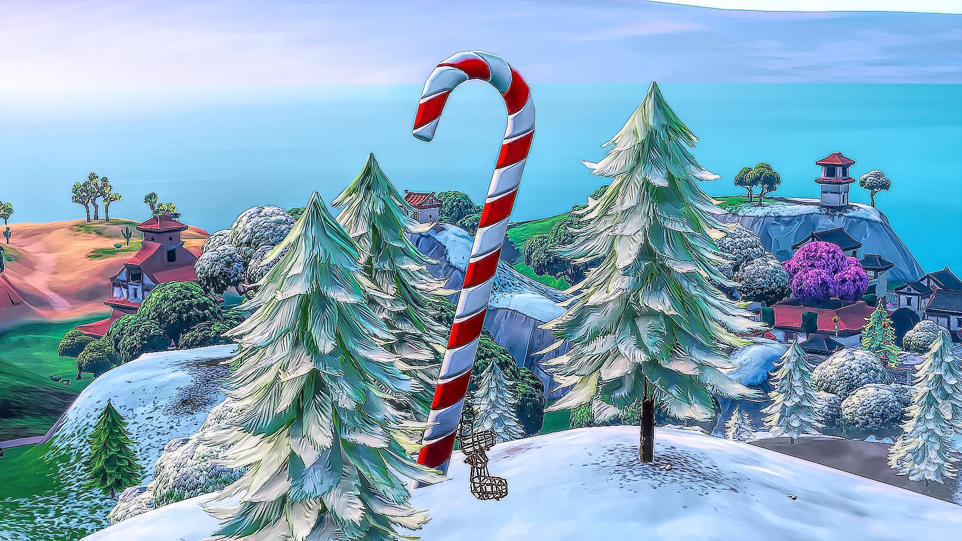 Fortnite Christmas Tree Background.Fortnite Christmas Event Desktop Wallpapers Top Free