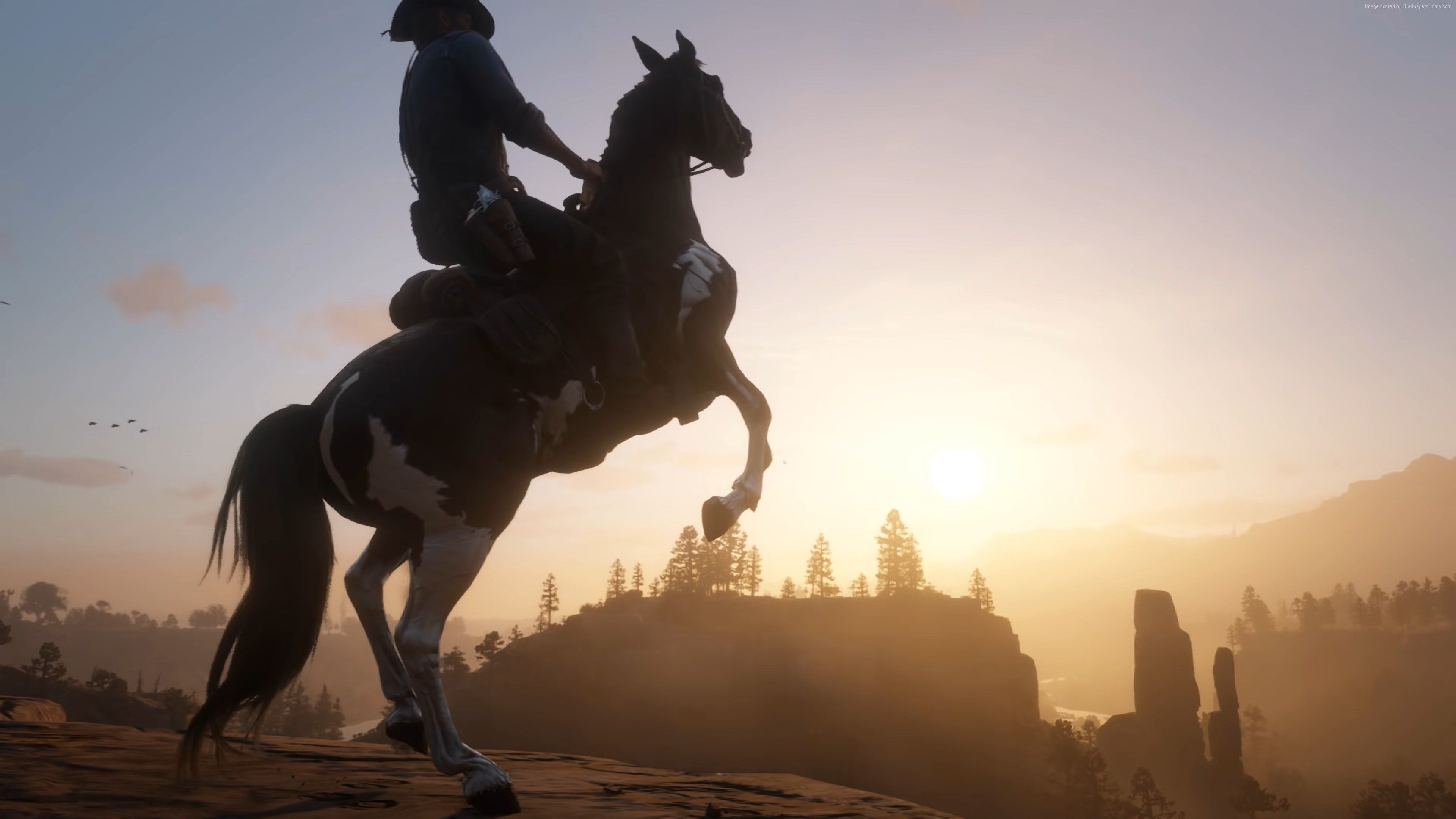Horse Red Dead Redemption 2 Wallpapers Top Free Horse Red Dead