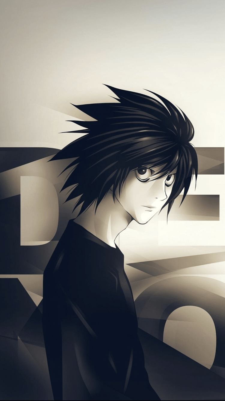 L Death Note Iphone Wallpapers Top Free L Death Note