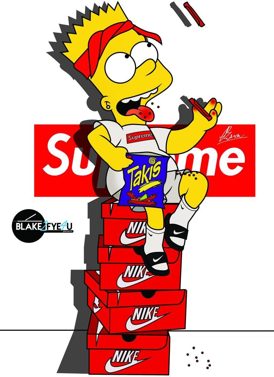 Dope Simpsons Wallpapers Top Free Dope Simpsons Backgrounds Wallpaperaccess