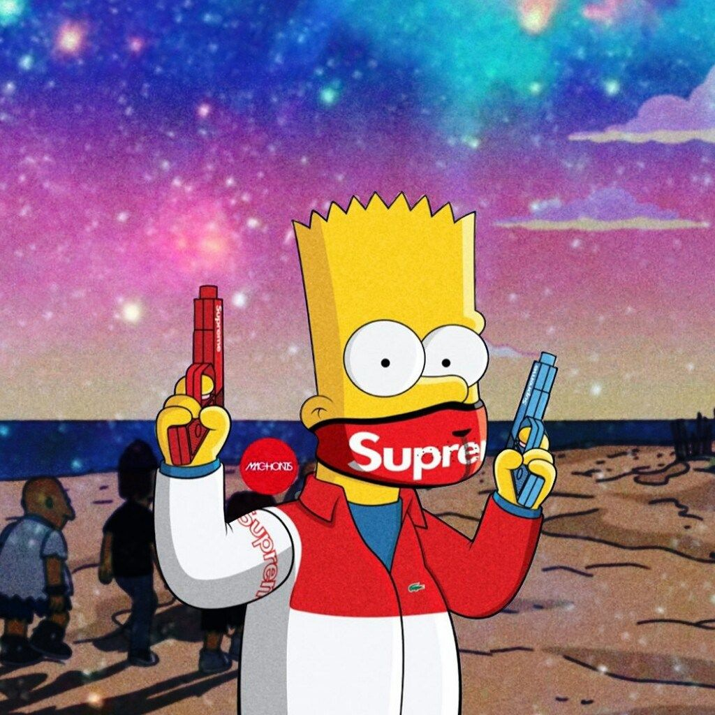 Dope Bart Simpson Supreme Wallpapers - Top Free Dope Bart ...