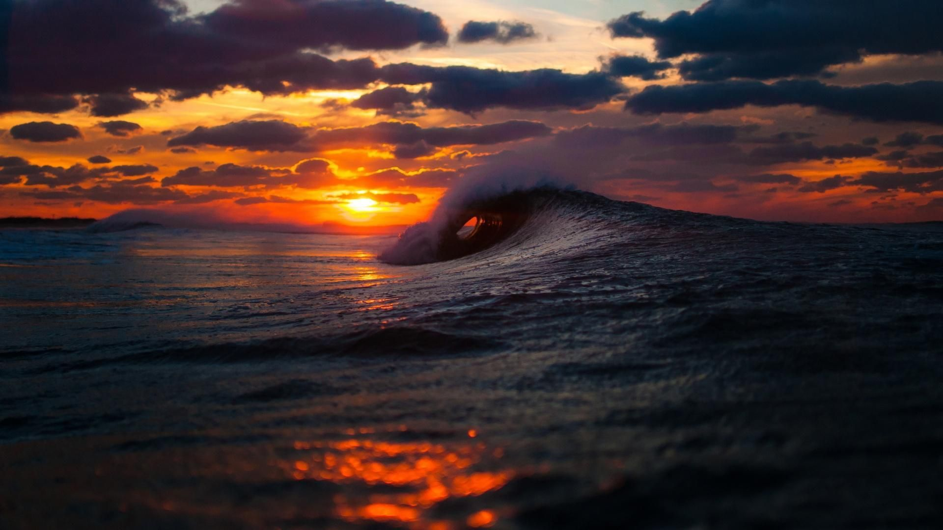 aesthetic sunset desktop wallpapers