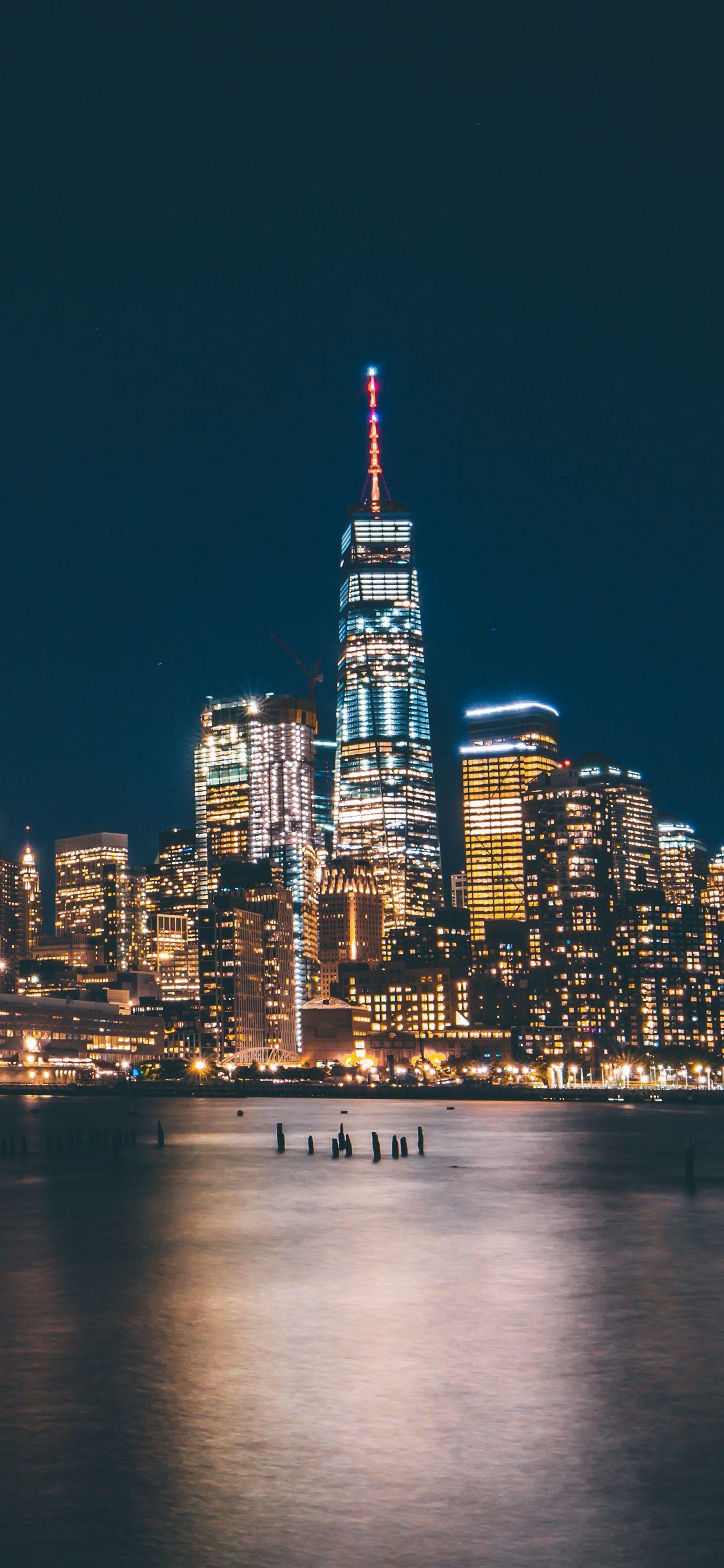 New York Skyline Iphone Wallpapers Top Free New York