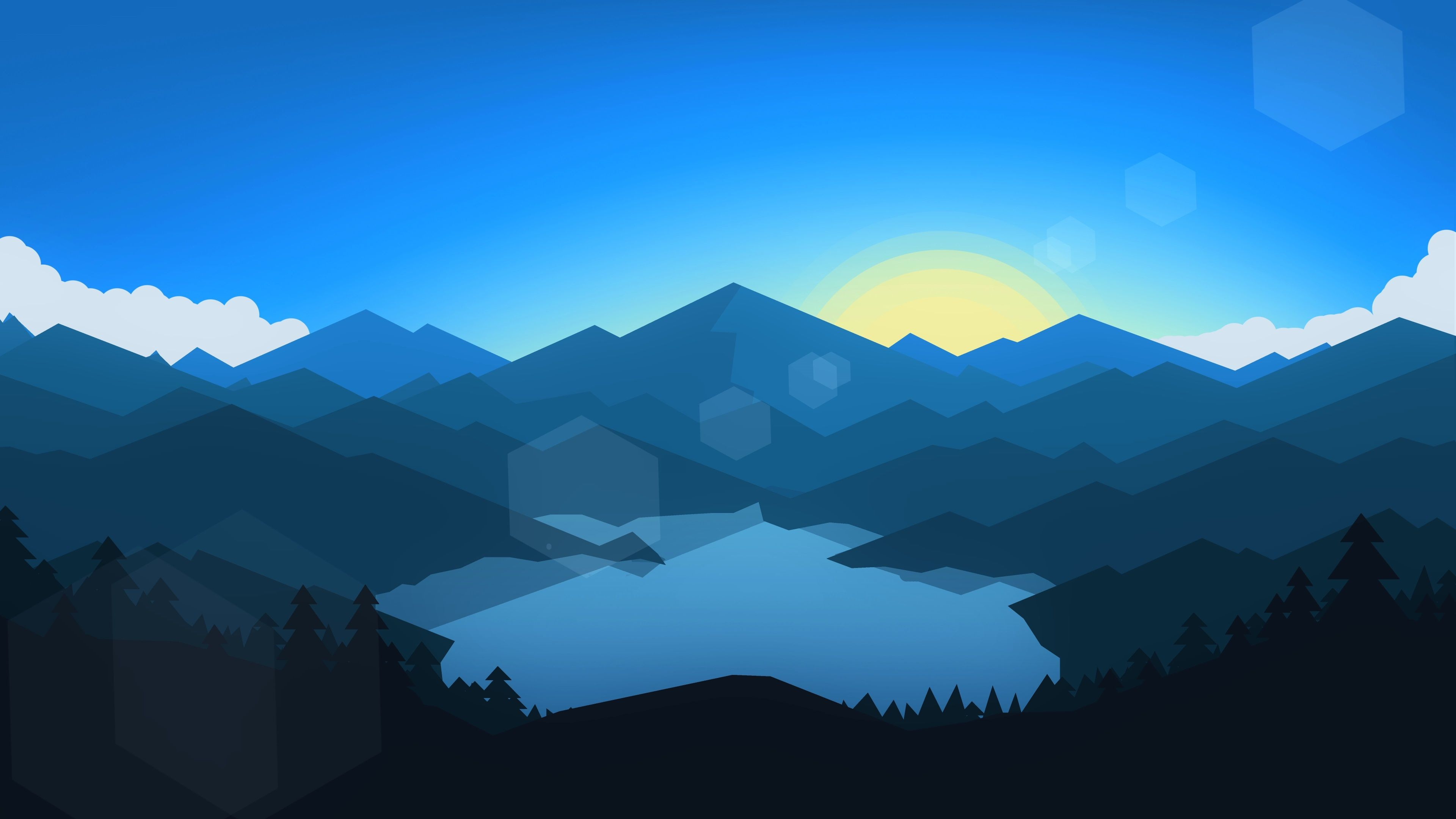 Flat 2d 4k wallpapers top free flat 2d 4k backgrounds - 2d nature wallpapers ...
