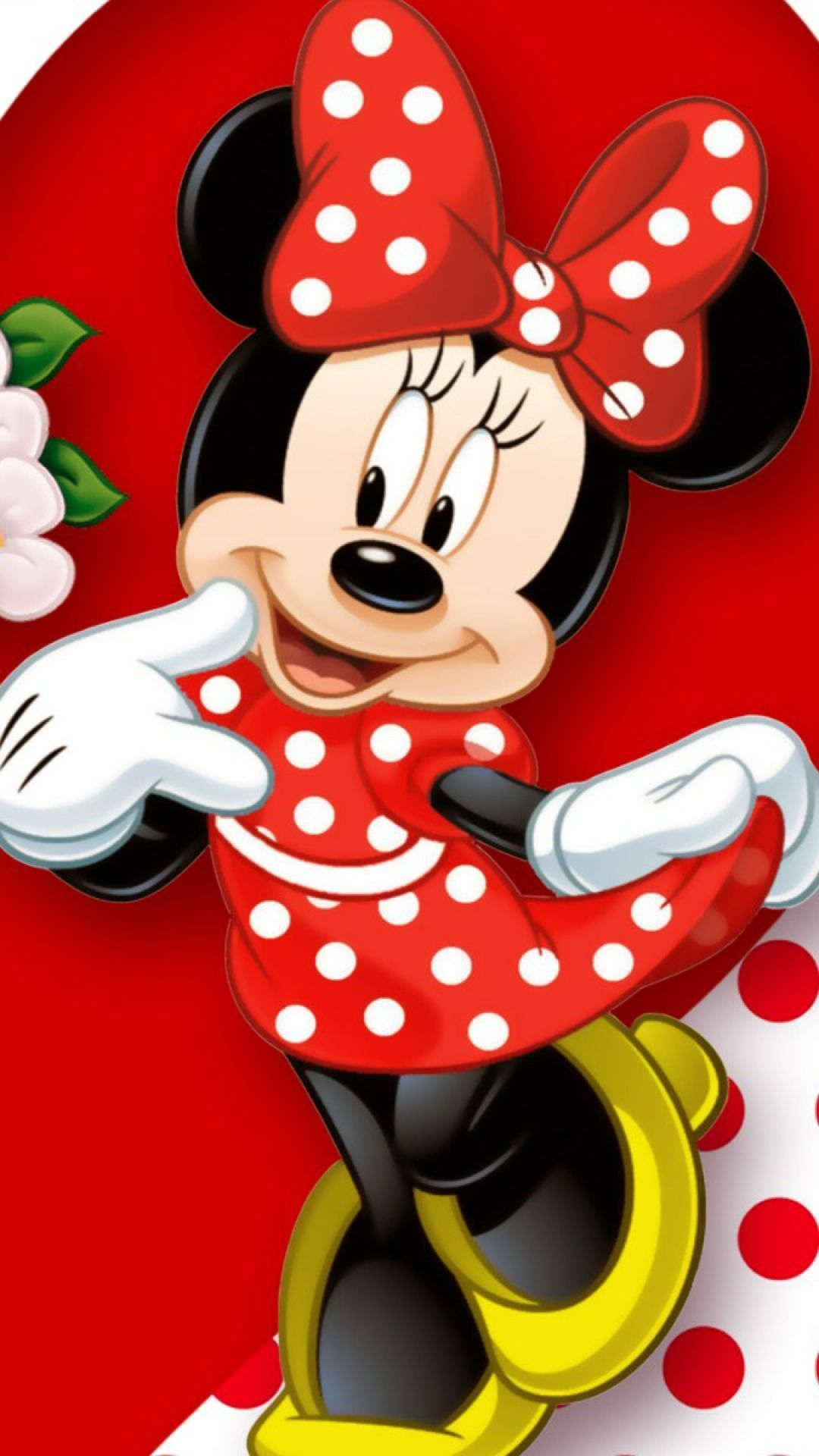 Red Minnie Mouse Wallpapers Top Free Red Minnie Mouse Backgrounds Wallpaperaccess