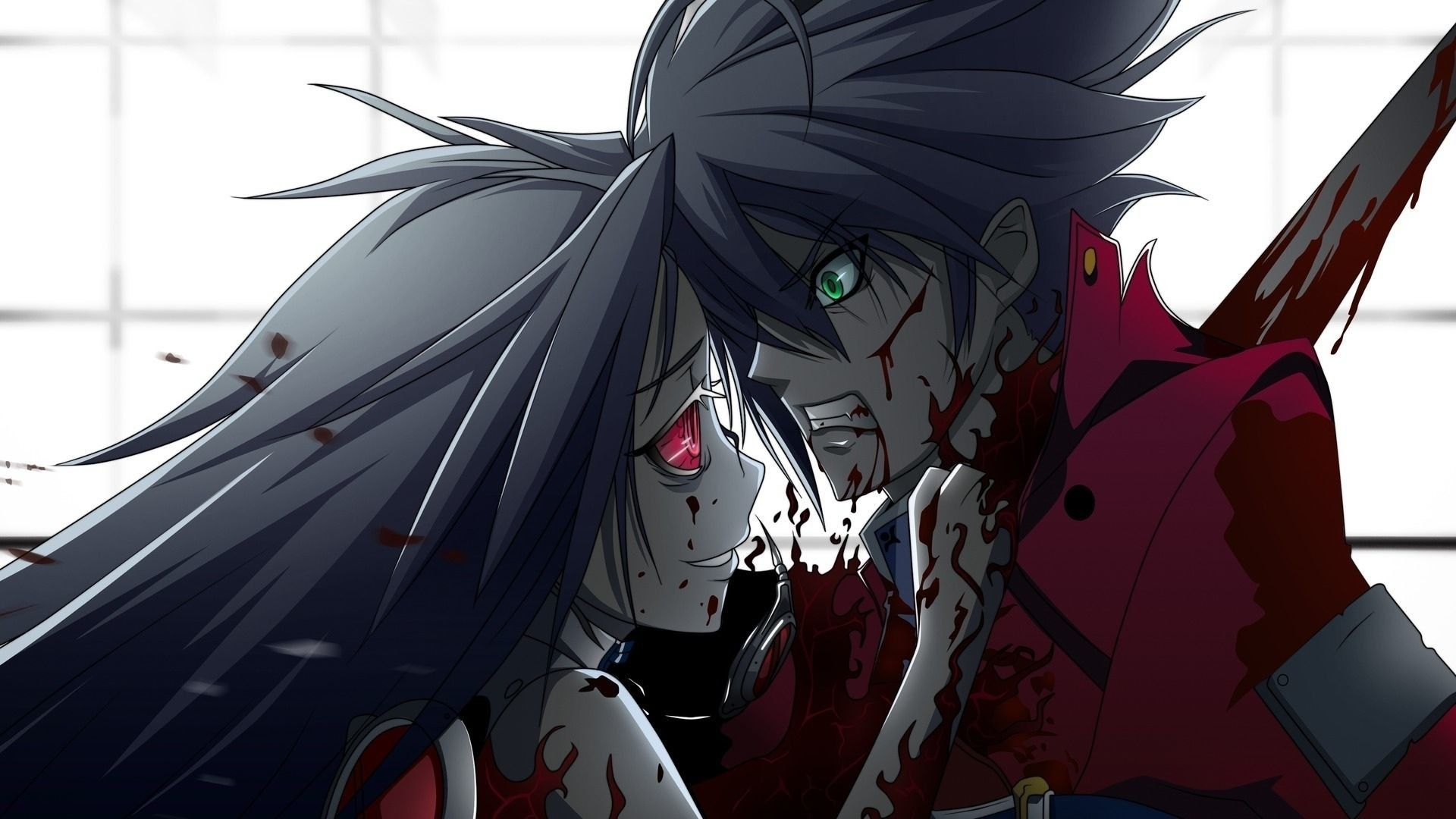 Bloody Anime Wallpapers Top Free Bloody Anime Backgrounds Wallpaperaccess