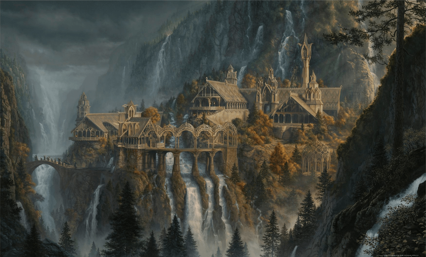 Lotr Rivendell Wallpapers - Top Free