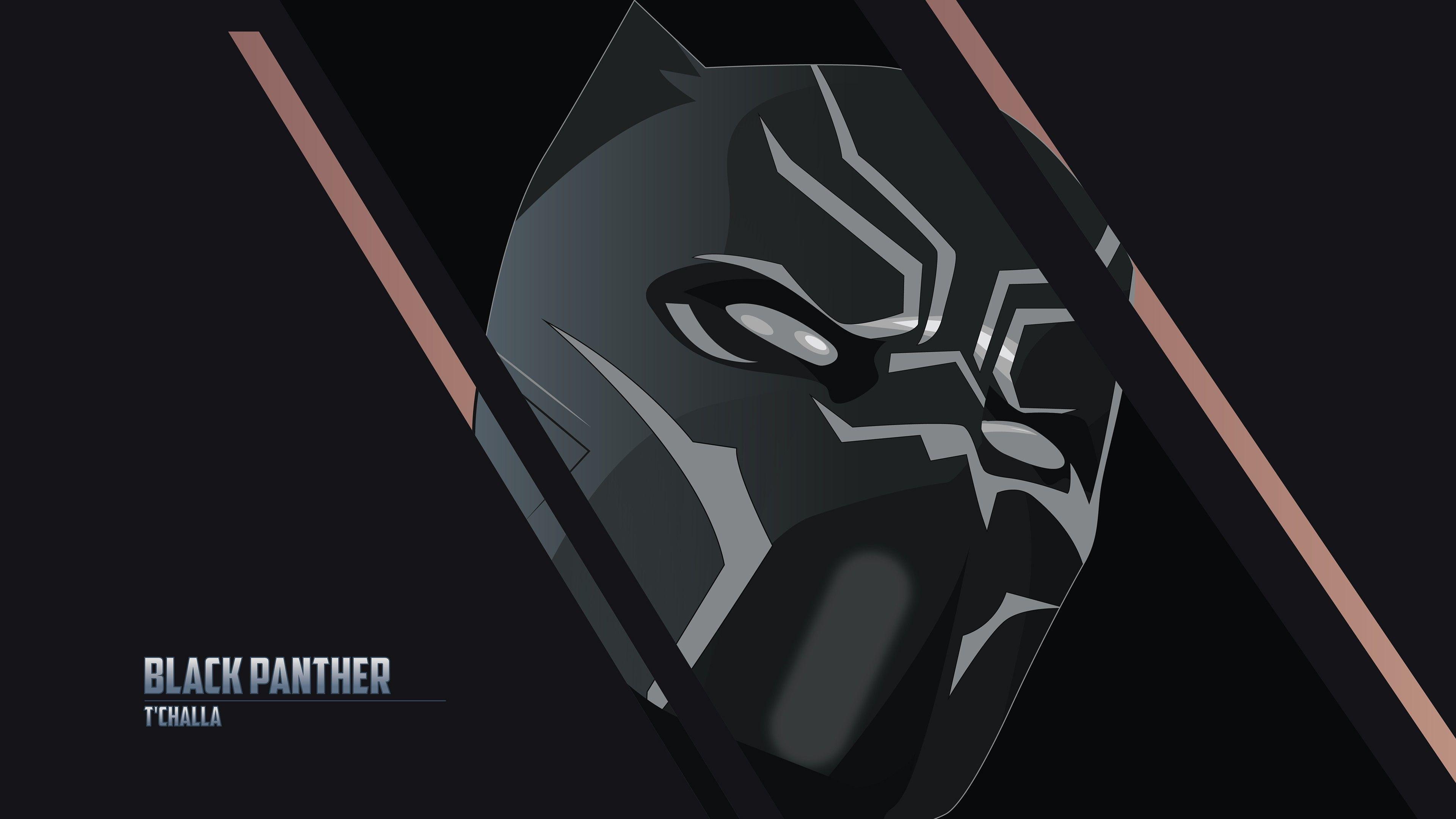 Black Panther 4k Ultra Hd Dark Wallpapers Top Free Black Panther 4k Ultra Hd Dark Backgrounds Wallpaperaccess
