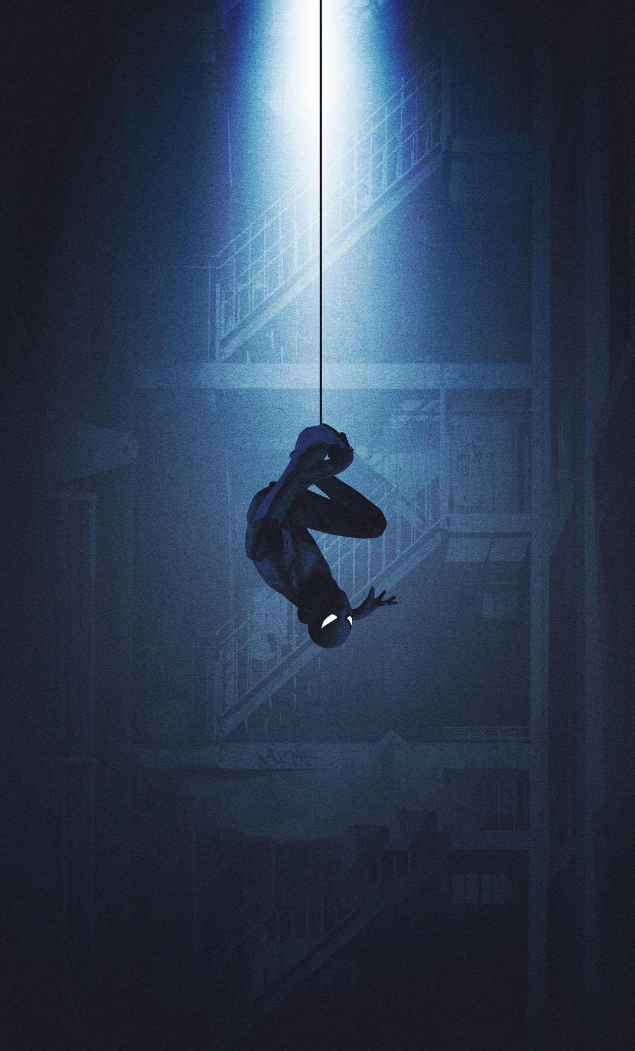 Black Spider Man Iphone Wallpapers Top Free Black Spider