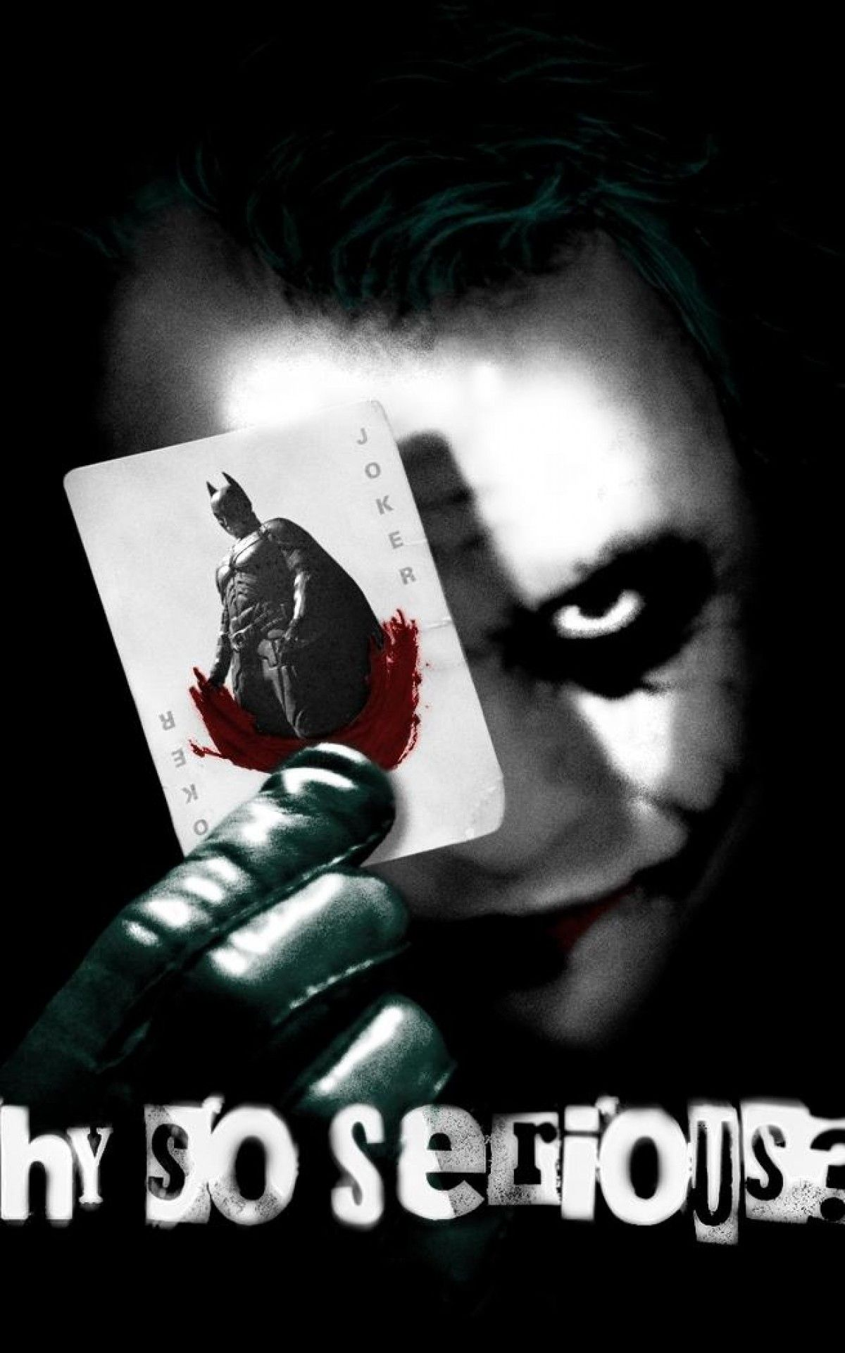 Why So Serious Joker Wallpapers Top Free Why So Serious Joker