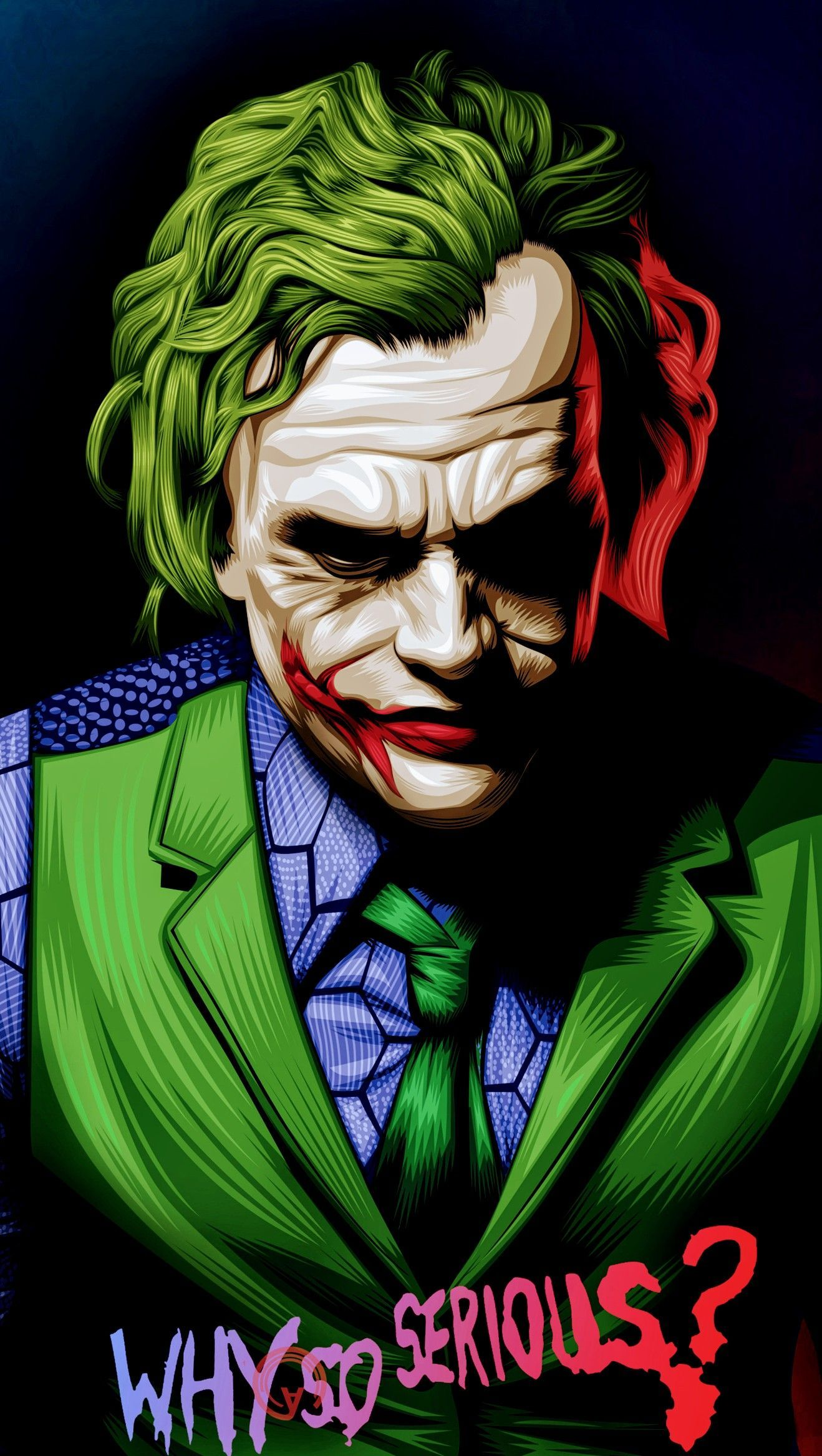 Why So Serious Wallpapers Top Free Why So Serious