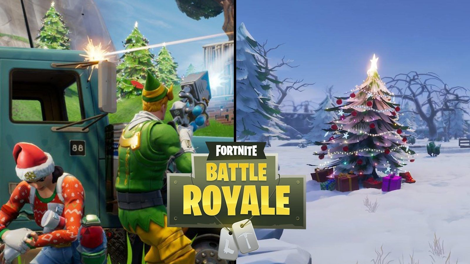 Fortnite Christmas Background Png.Fight All Fortnite Christmas Skins Wallpapers Top Free