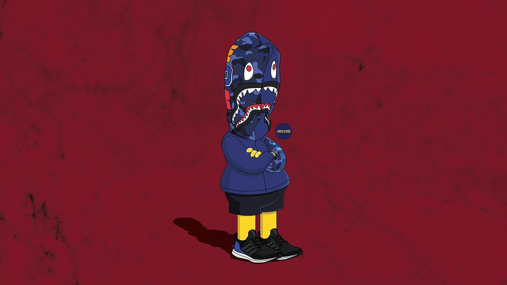 Hood Bart Simpson Supreme Wallpapers - Top Free Hood Bart ...