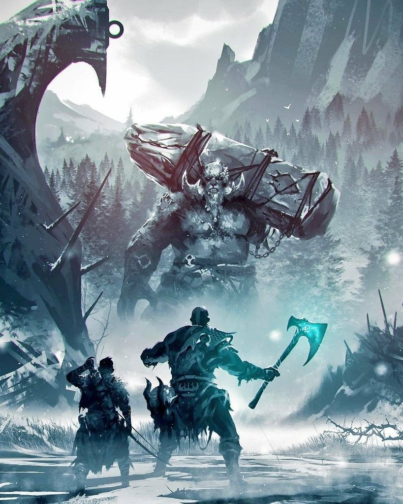God Of War 2018 Wallpapers Top Free God Of War 2018 Backgrounds
