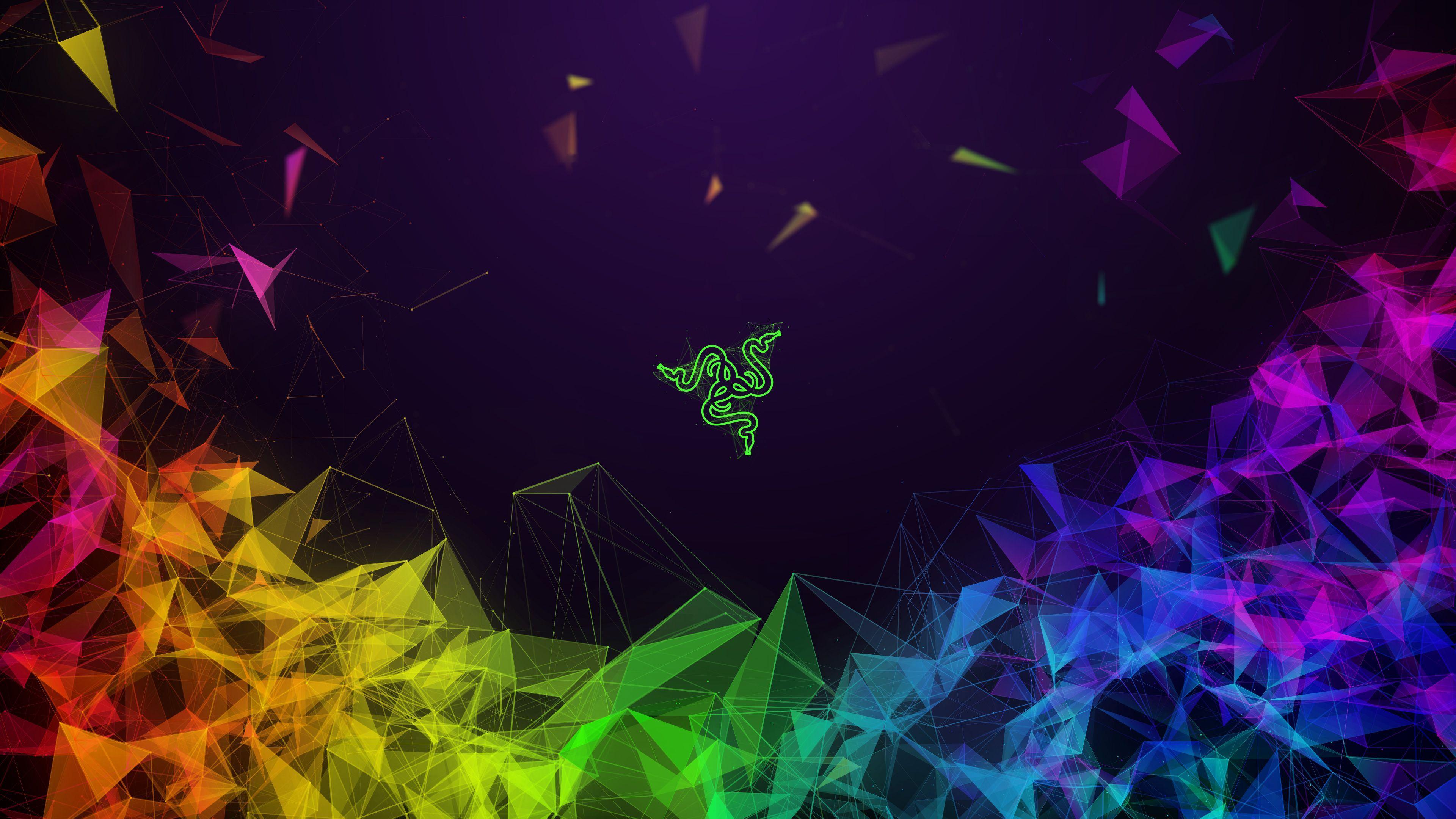 3840x2160 Razer trừu tượng đầy màu sắc 4k, Trừu tượng HD, Hình nền 4k, Hình ảnh