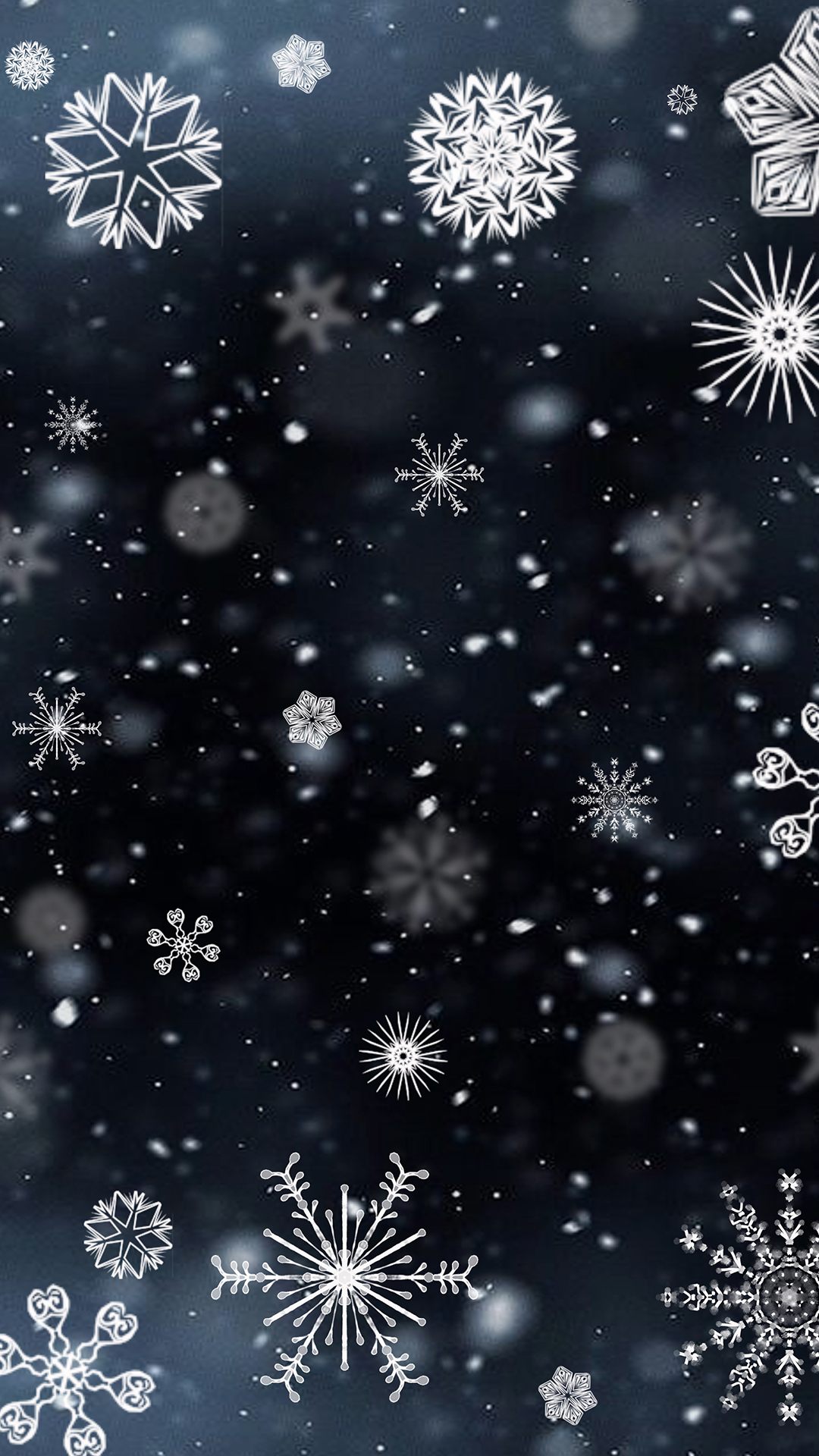 Snowflake Iphone Wallpapers Top Free Snowflake Iphone Backgrounds Wallpaperaccess