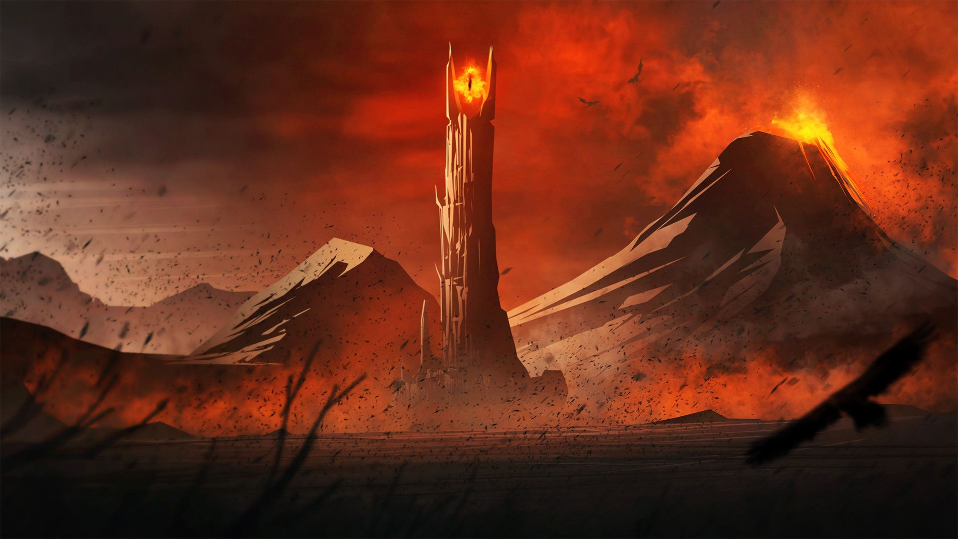 Sauron Wallpapers Top Free Sauron Backgrounds