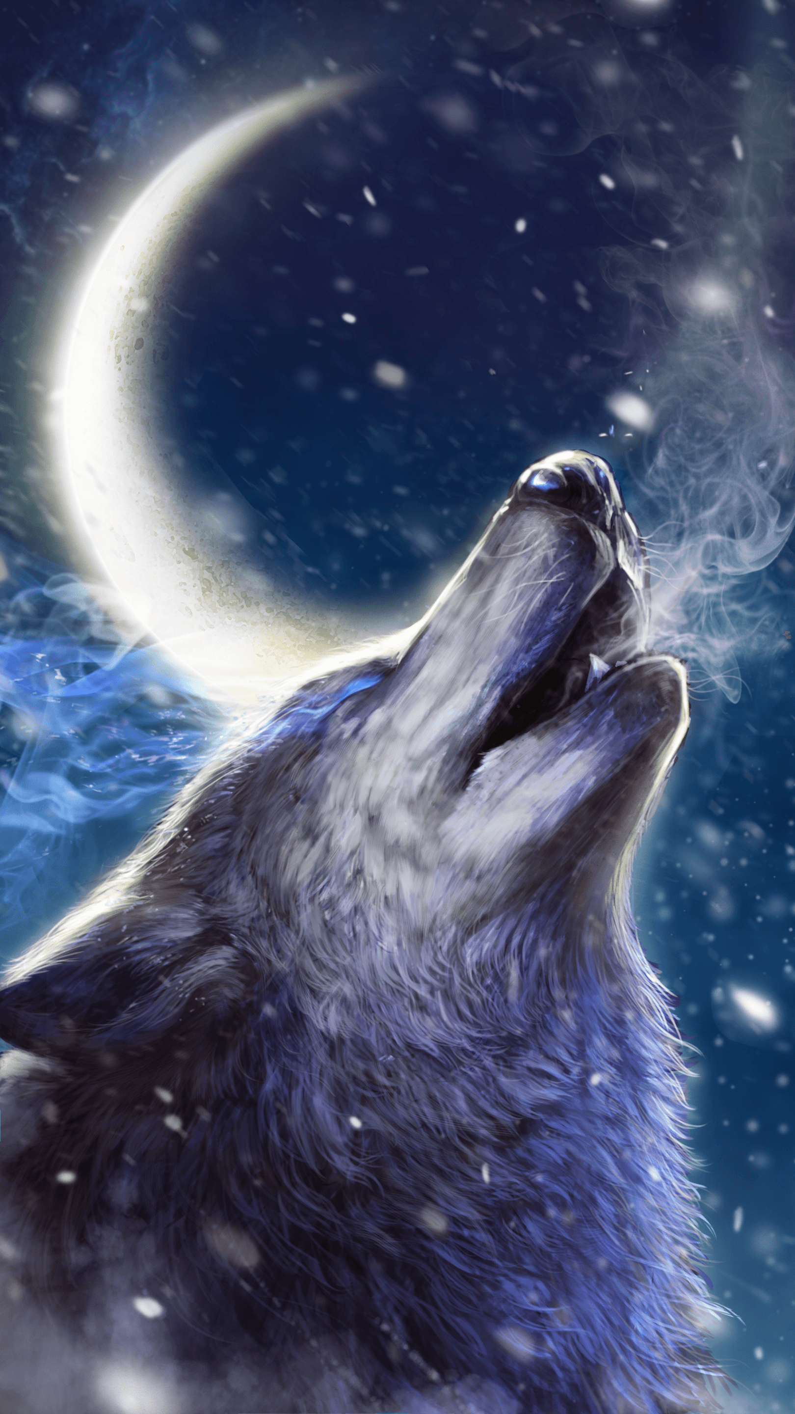 Howling Wolf Wallpapers Top Free Howling Wolf Backgrounds