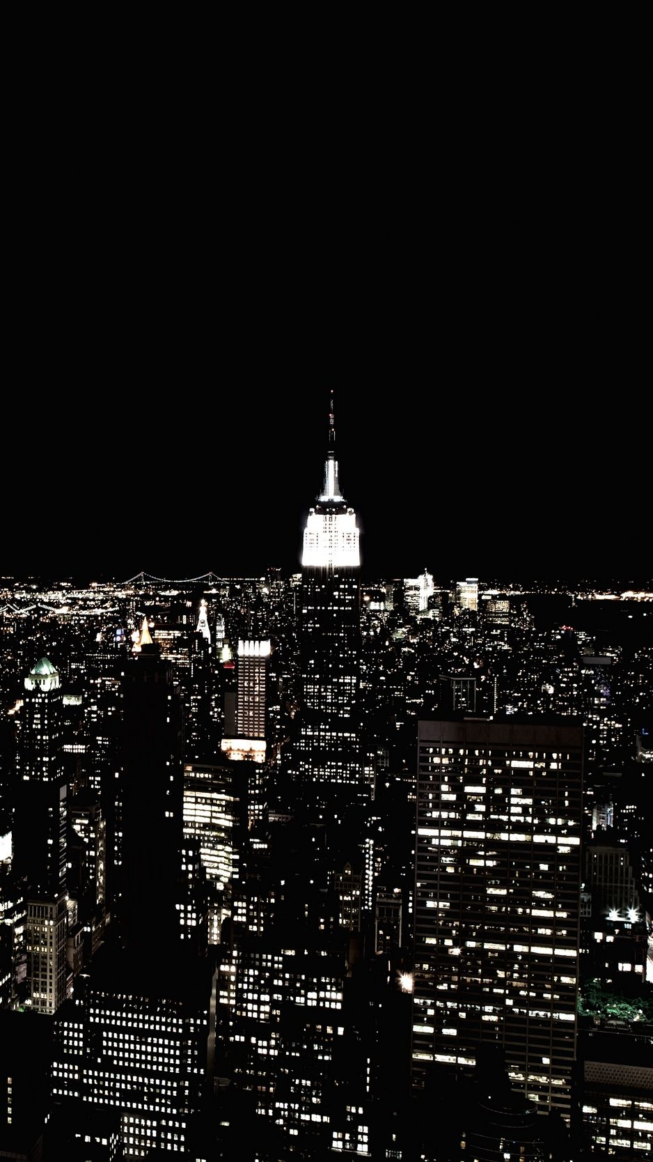 New York Night Iphone Wallpapers Top Free New York Night Iphone Backgrounds Wallpaperaccess