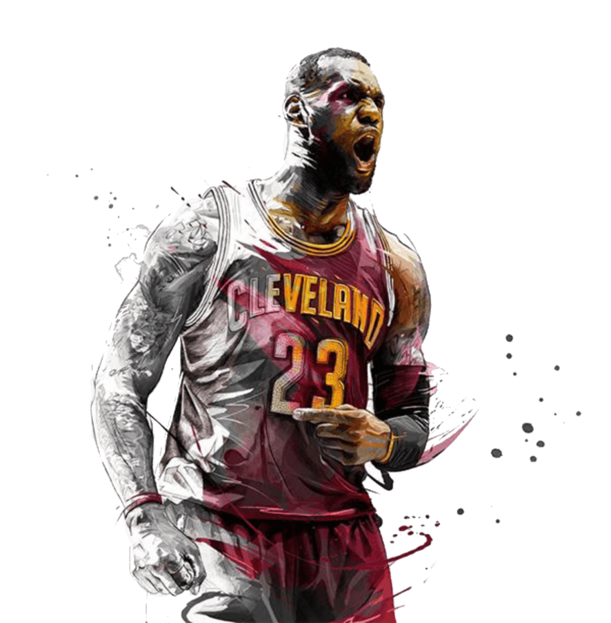 Lebron James Cartoon Wallpapers Top Free Lebron James Cartoon Backgrounds Wallpaperaccess