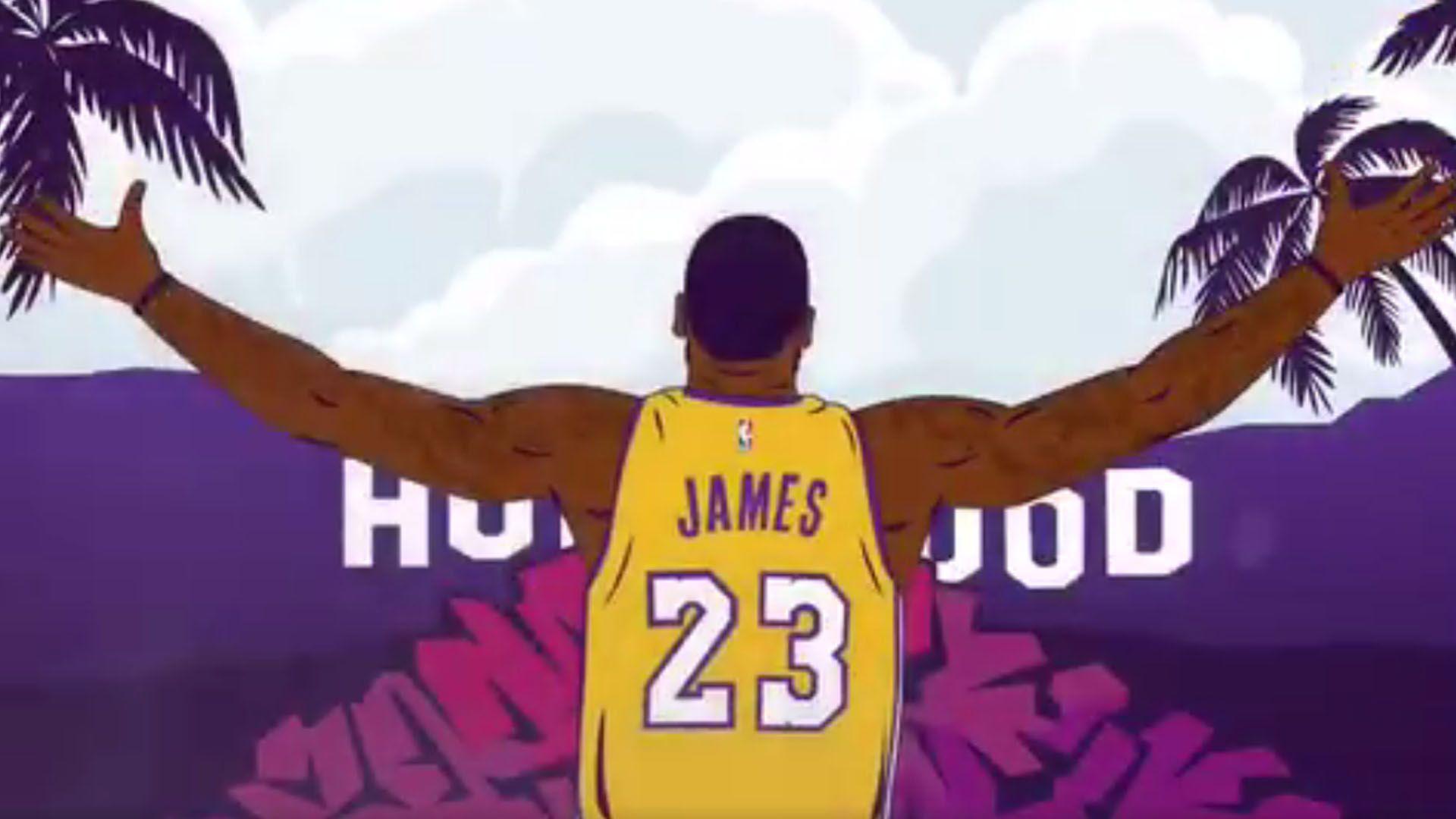 LeBron James Cartoon Wallpapers - Top Free LeBron James ...